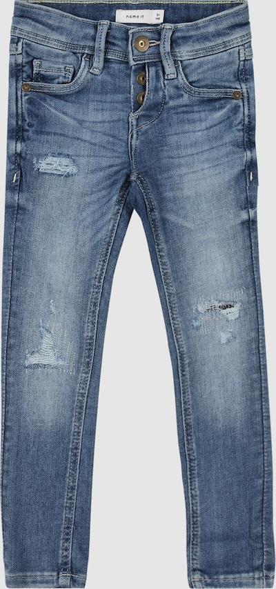 Name It Kids Pete hellblaue enge Denim-Jeans