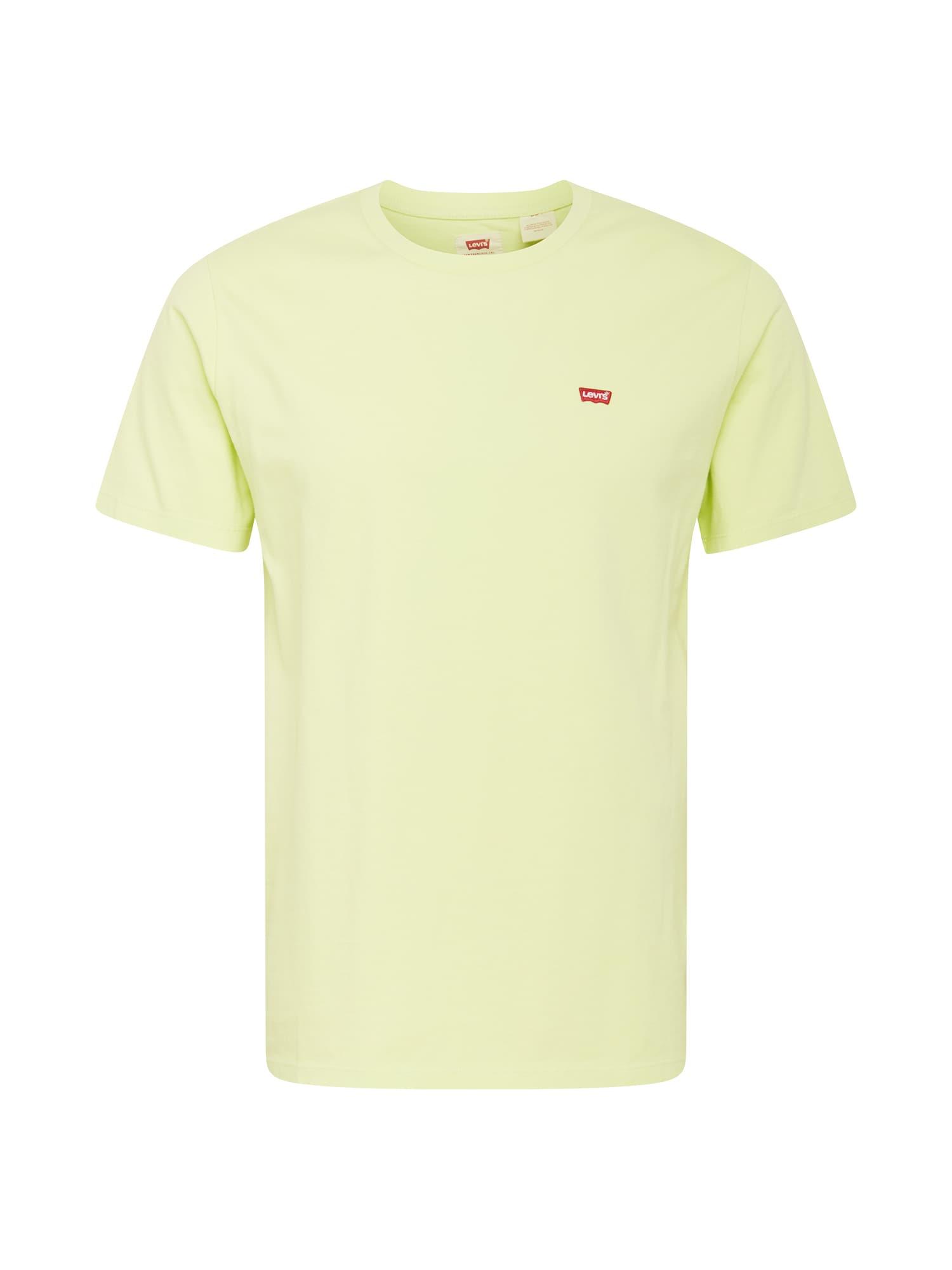 LEVI'S Tričko  pastelově žlutá / červená