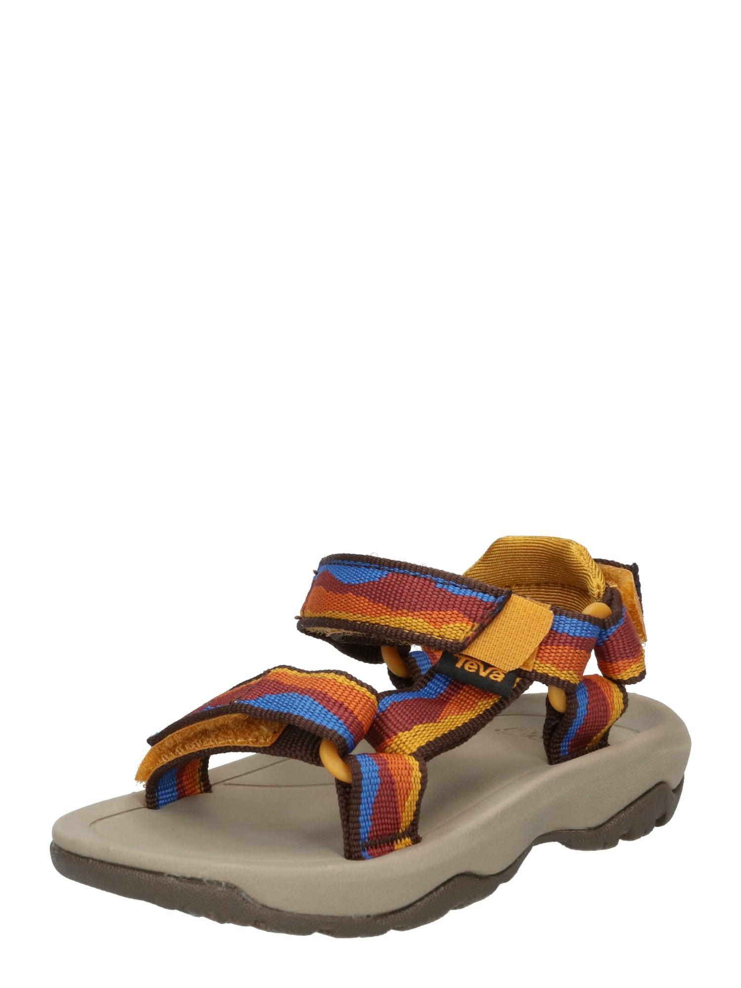 TEVA Atviri batai mišrios spalvos