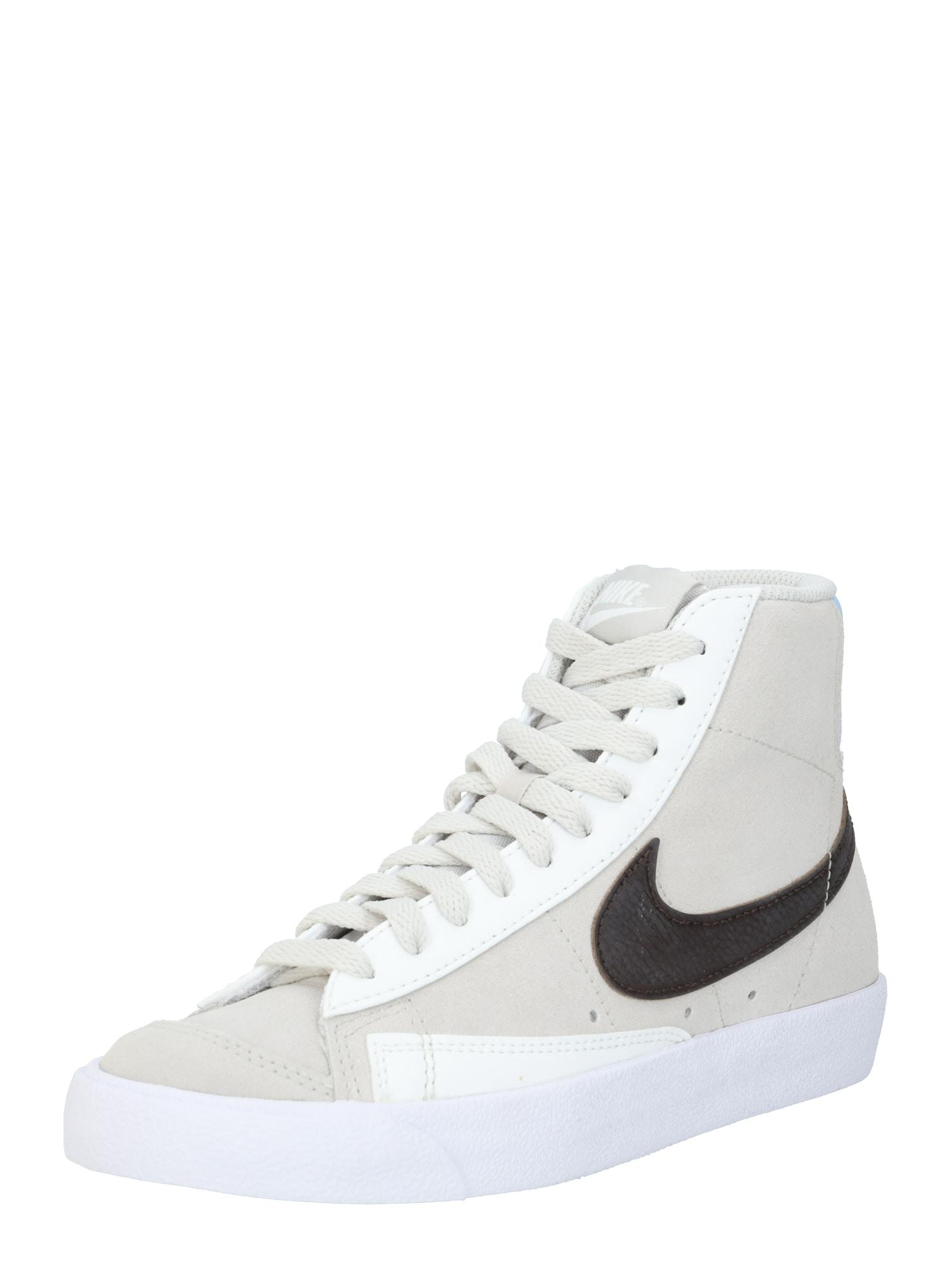 Nike Sportswear Sportbačiai su auliuku pilka / balkšva / antracito