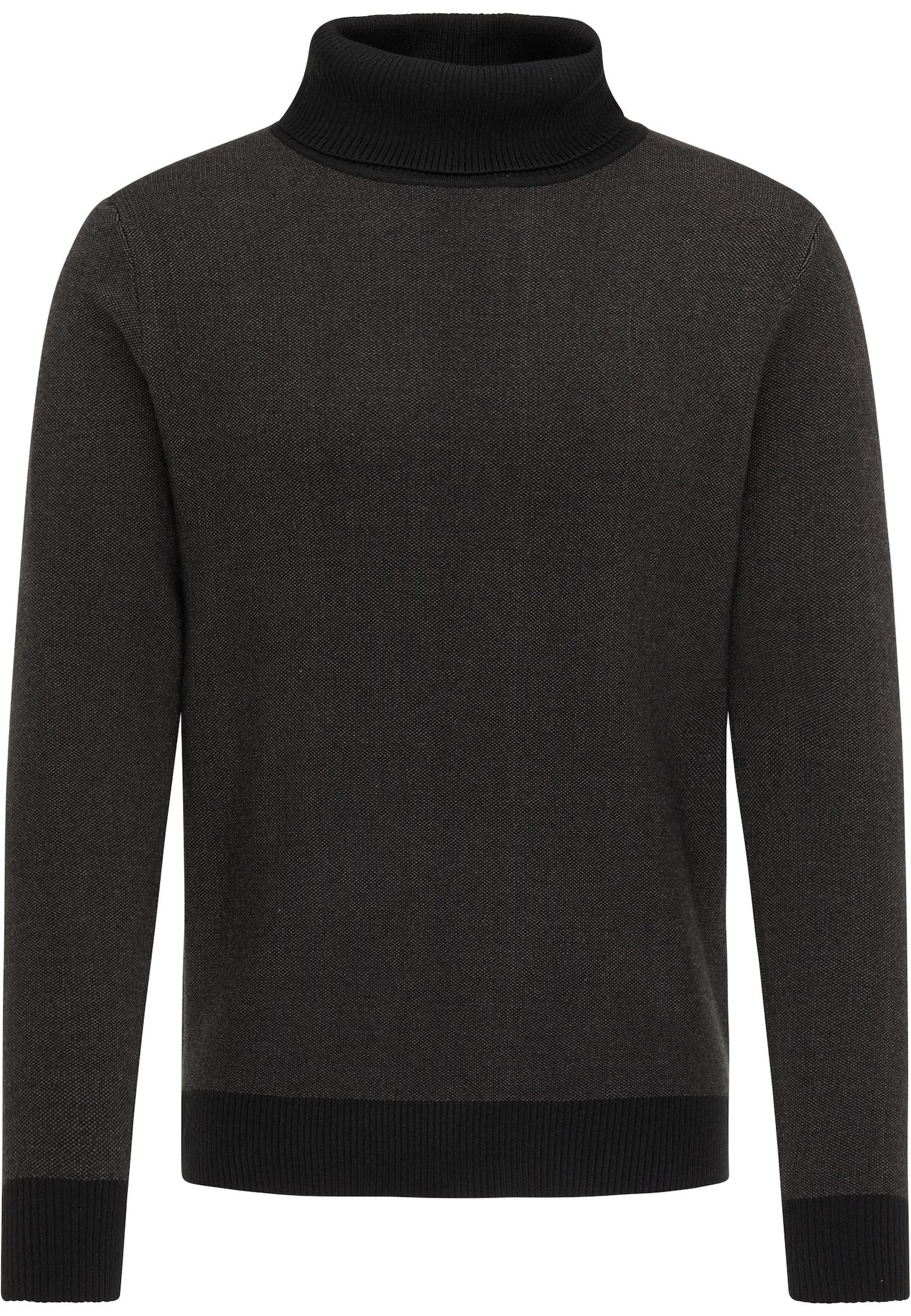 DreiMaster Vintage Megztinis juoda / balta