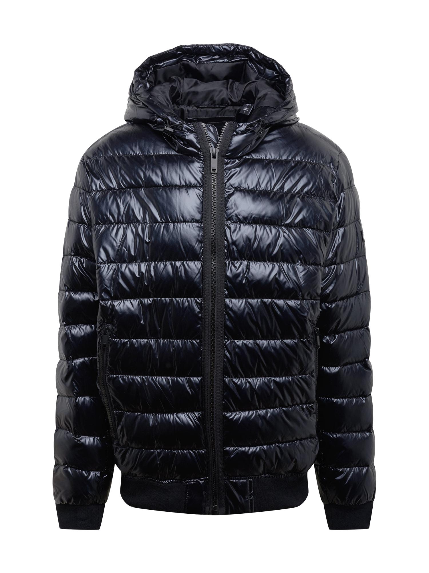 DKNY Žieminė striukė juoda