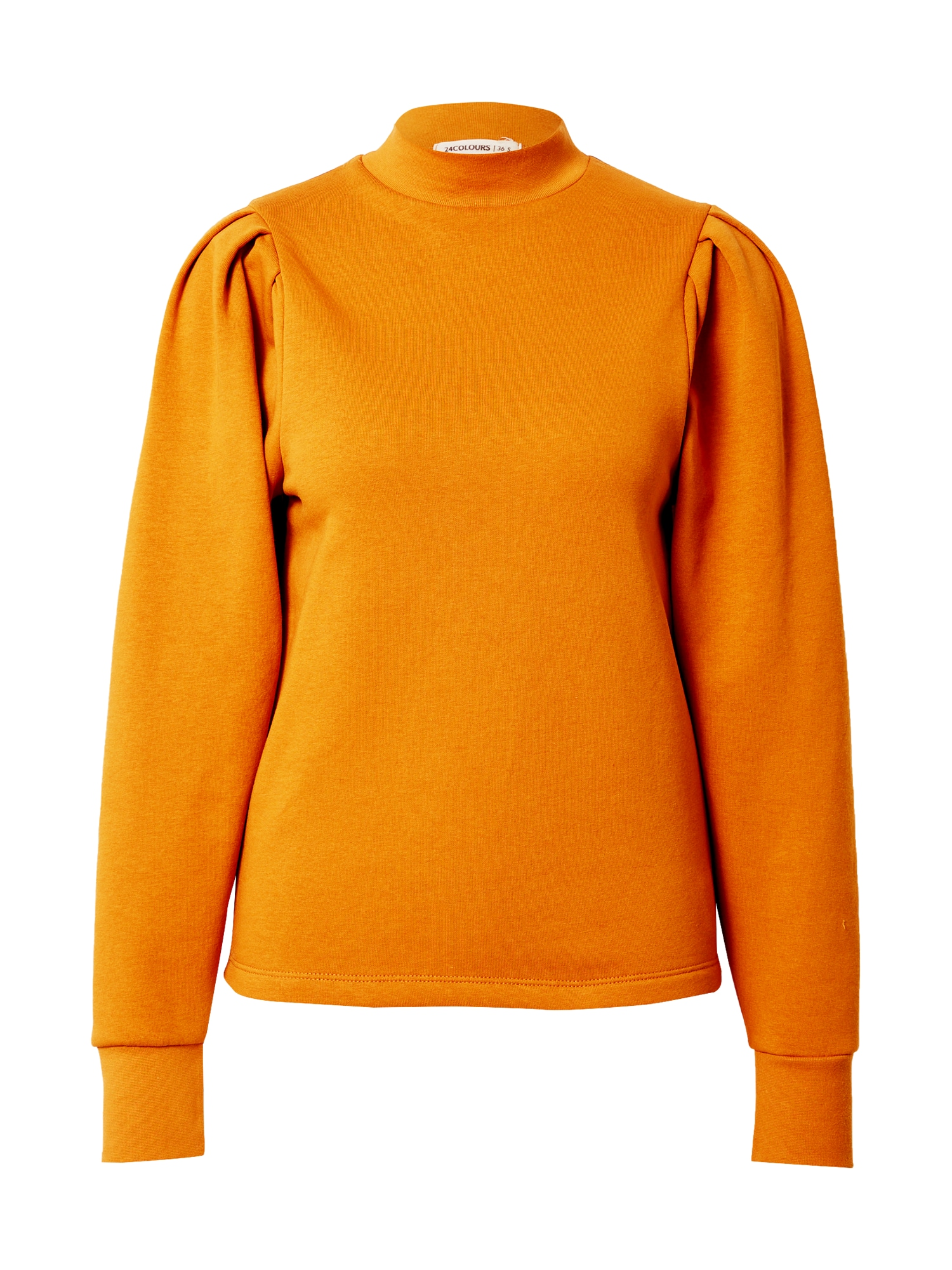 24COLOURS Megztinis be užsegimo ruda (konjako) / kario spalva