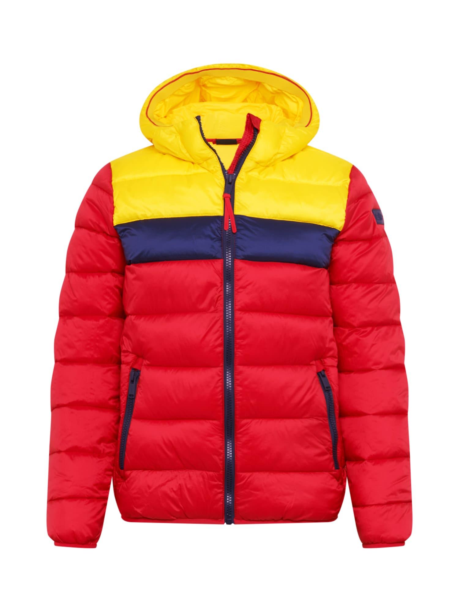 CMP Laisvalaikio striukė raudona / geltona / tamsiai mėlyna