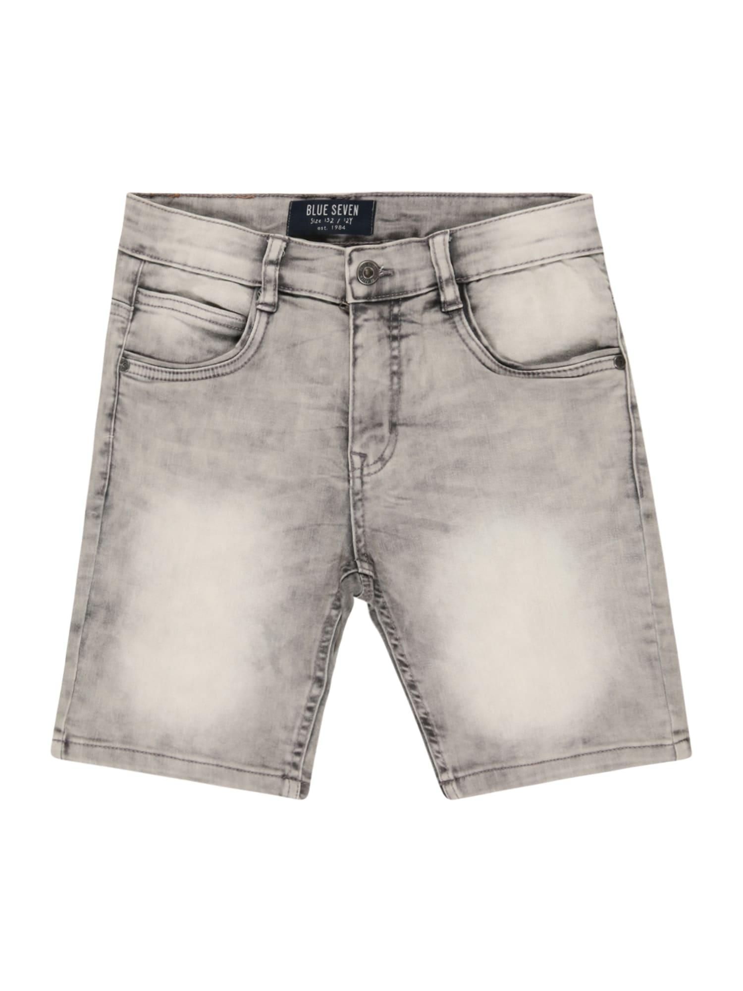 BLUE SEVEN Džinsai pilko džinso