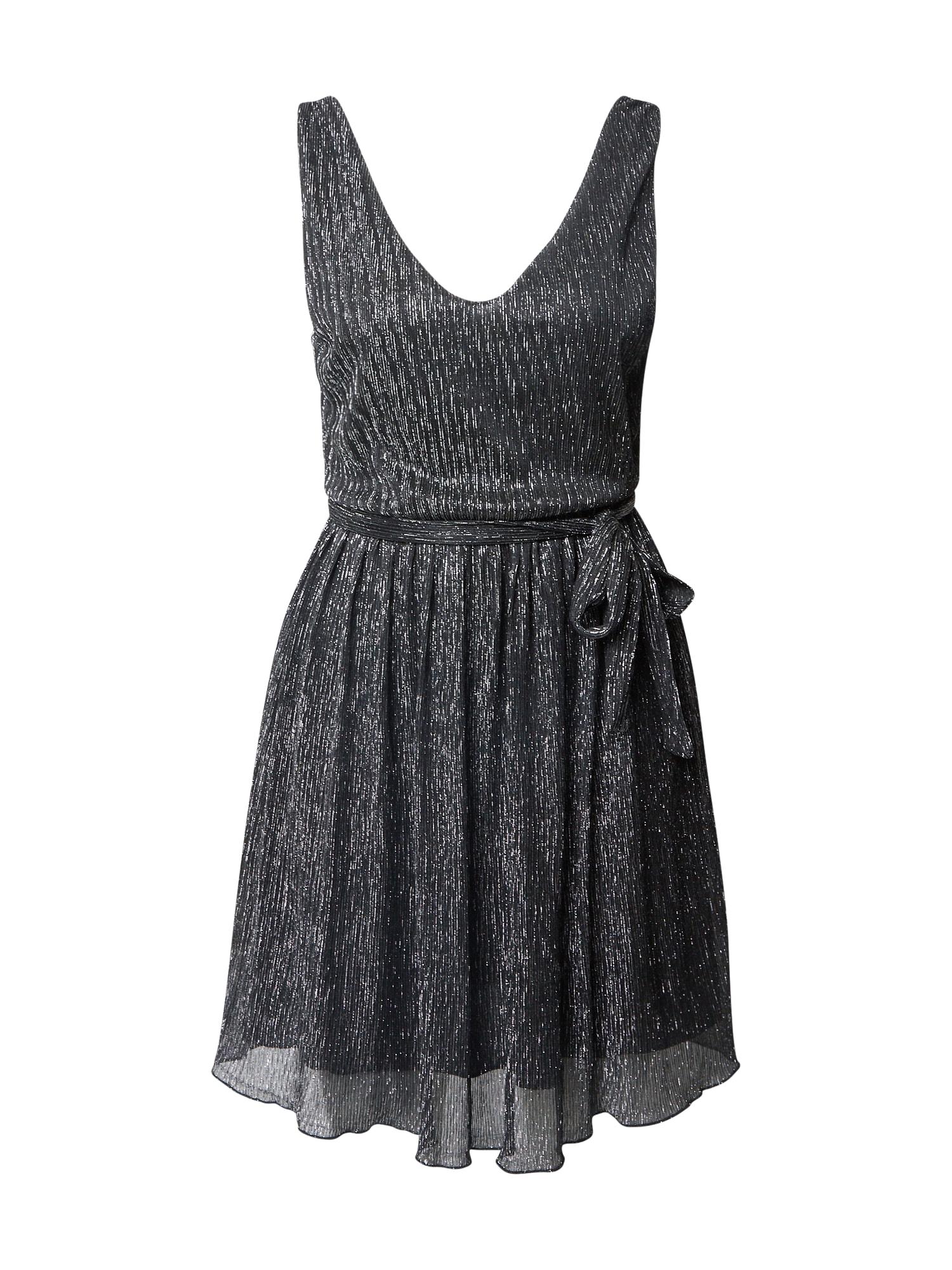 ABOUT YOU Koktejlové šaty 'Mona'  černá