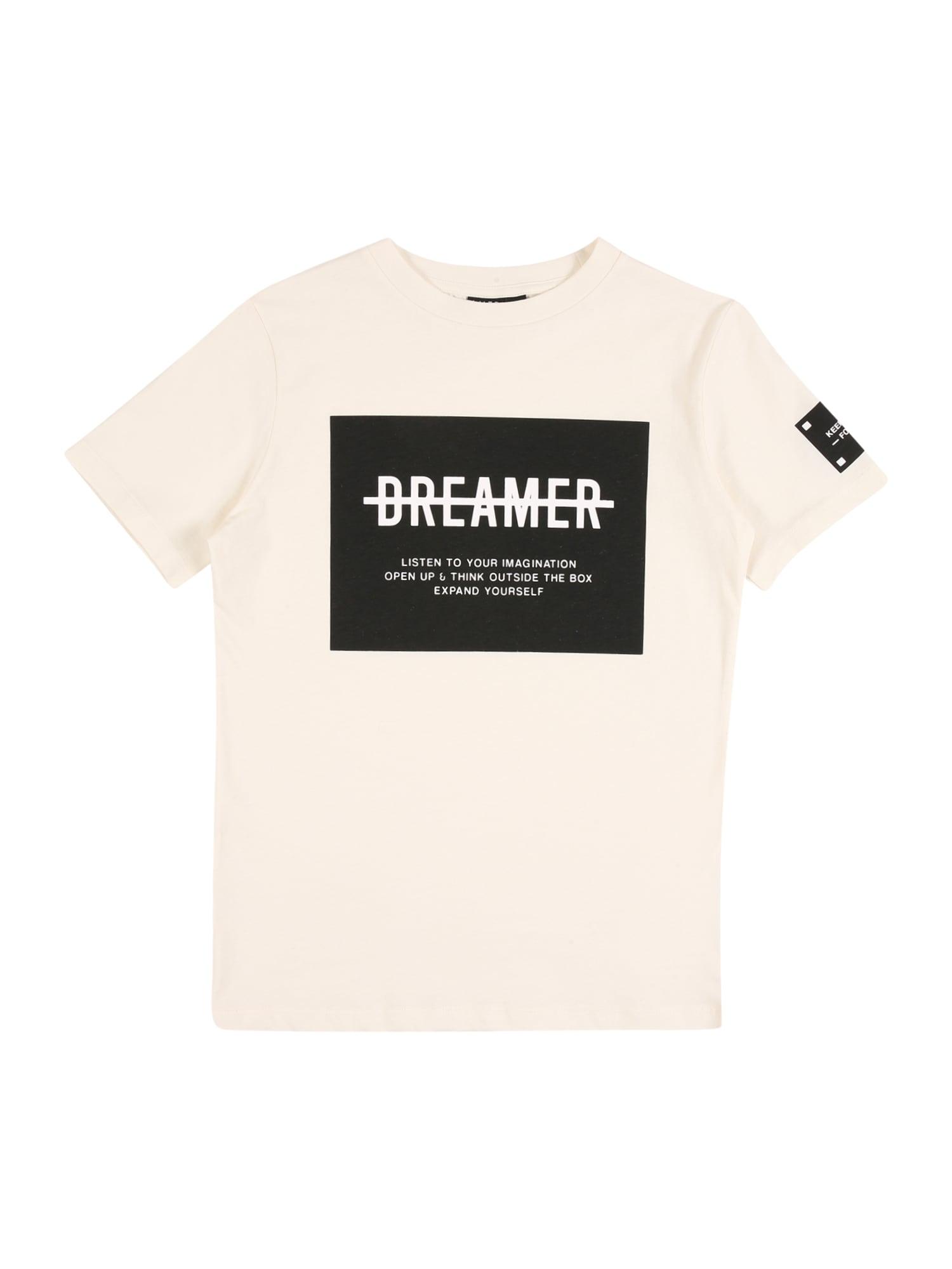 LMTD Marškinėliai balta / juoda
