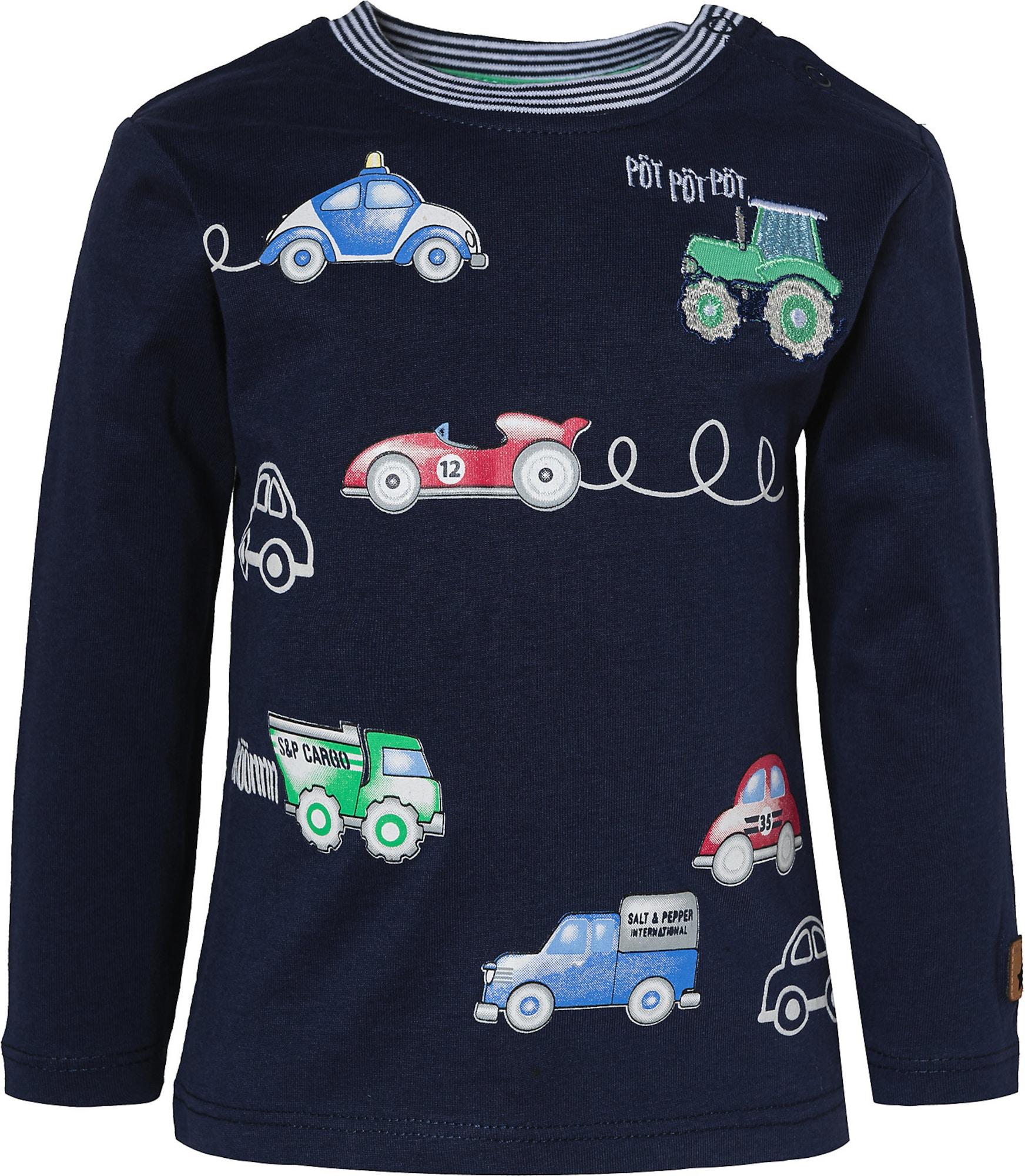 SALT AND PEPPER Marškinėliai mėlyna / žalia / raudona / balta
