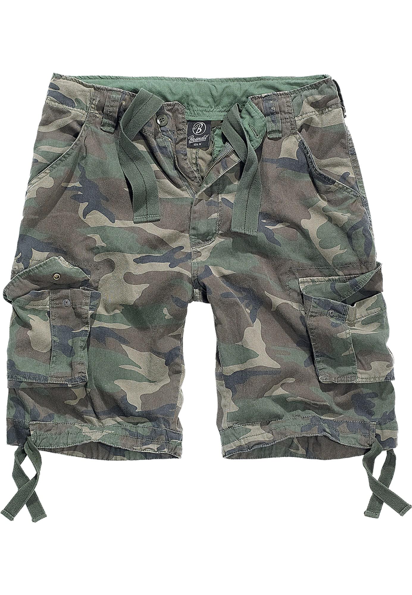 Brandit Laisvo stiliaus kelnės pastelinė žalia / alyvuogių spalva / rusvai žalia / tamsiai mėlyna jūros spalva / ruda