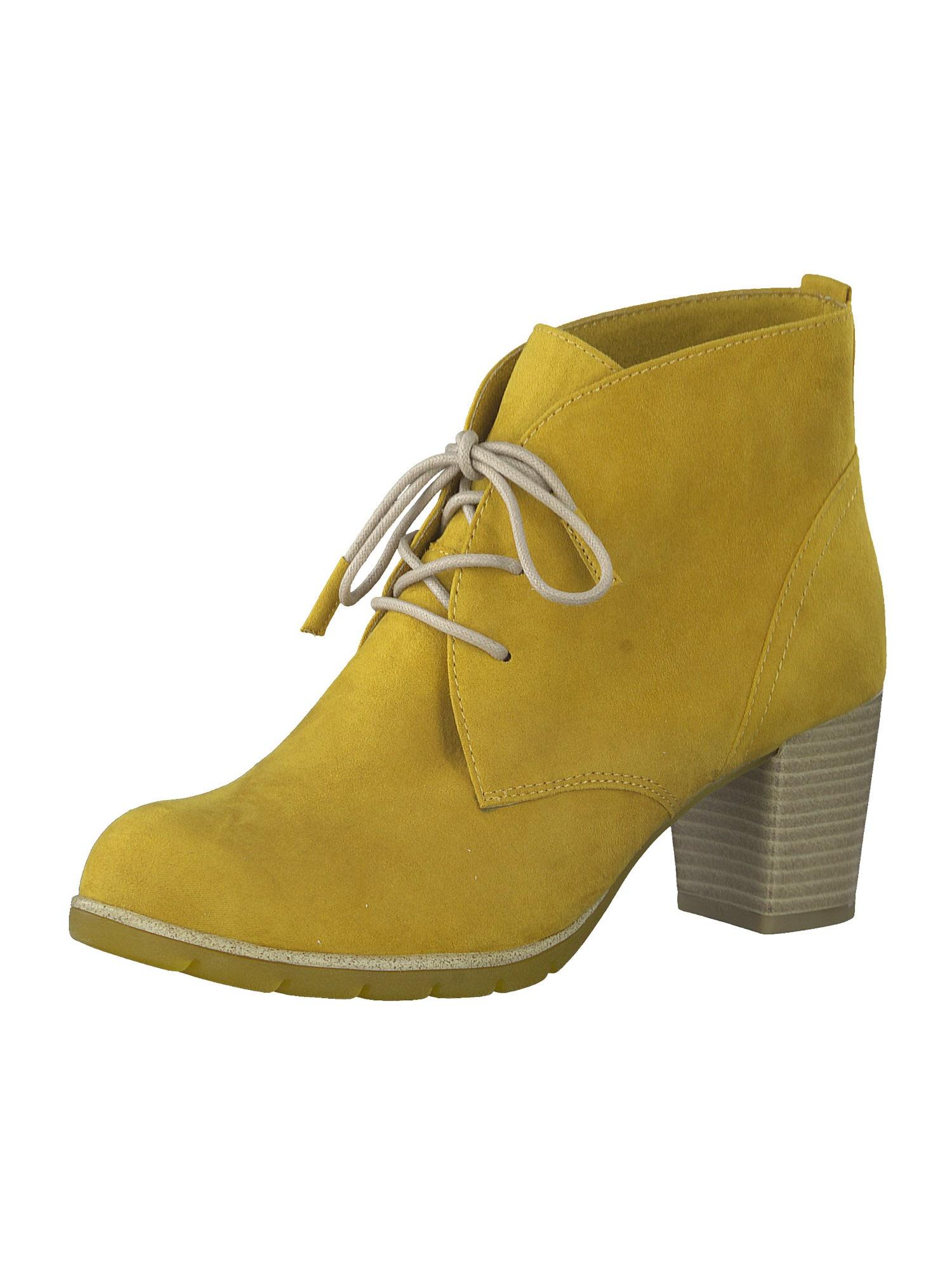MARCO TOZZI Kulkšnis dengiantys batai šafrano spalva