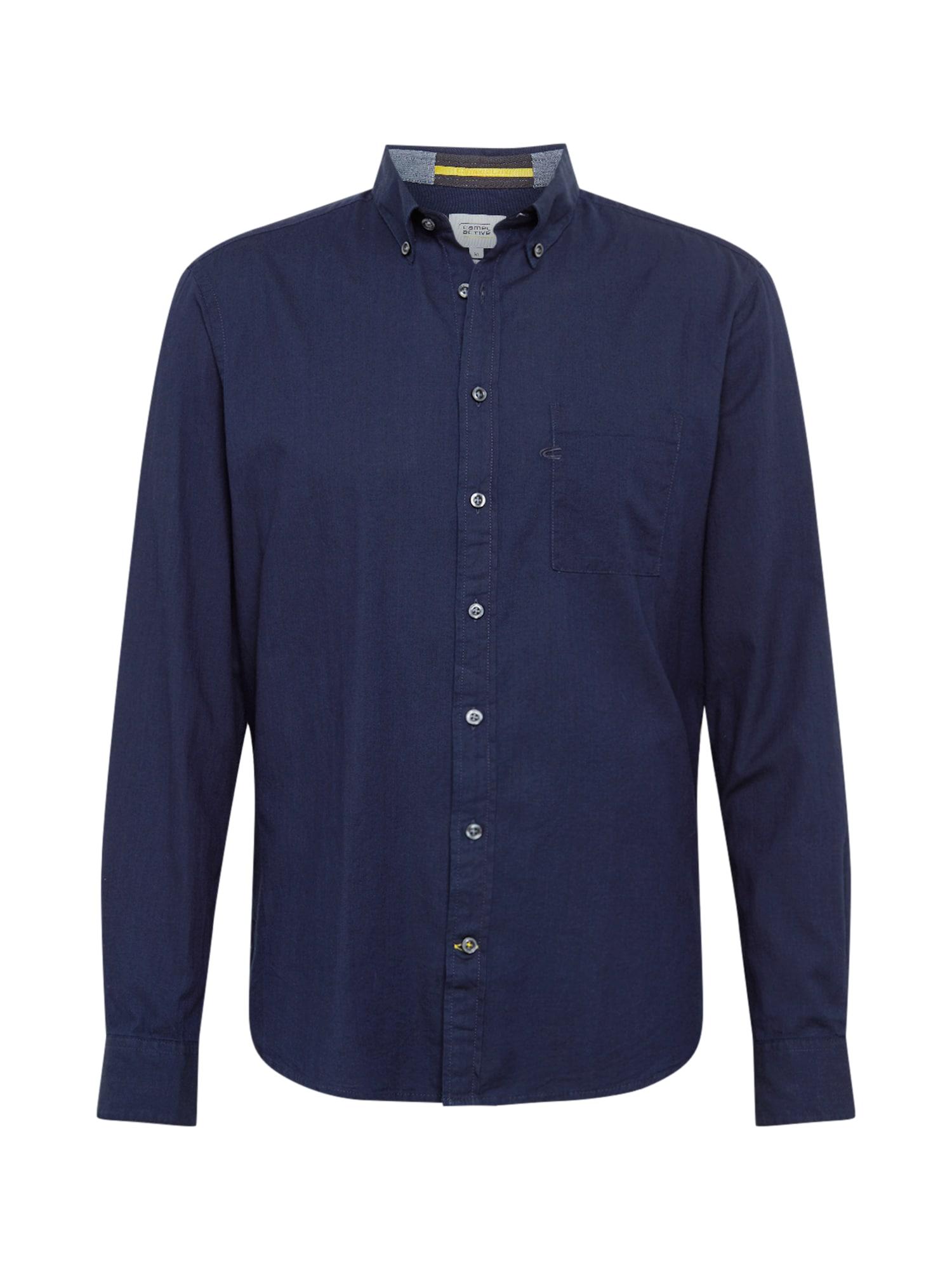 CAMEL ACTIVE Marškiniai tamsiai mėlyna