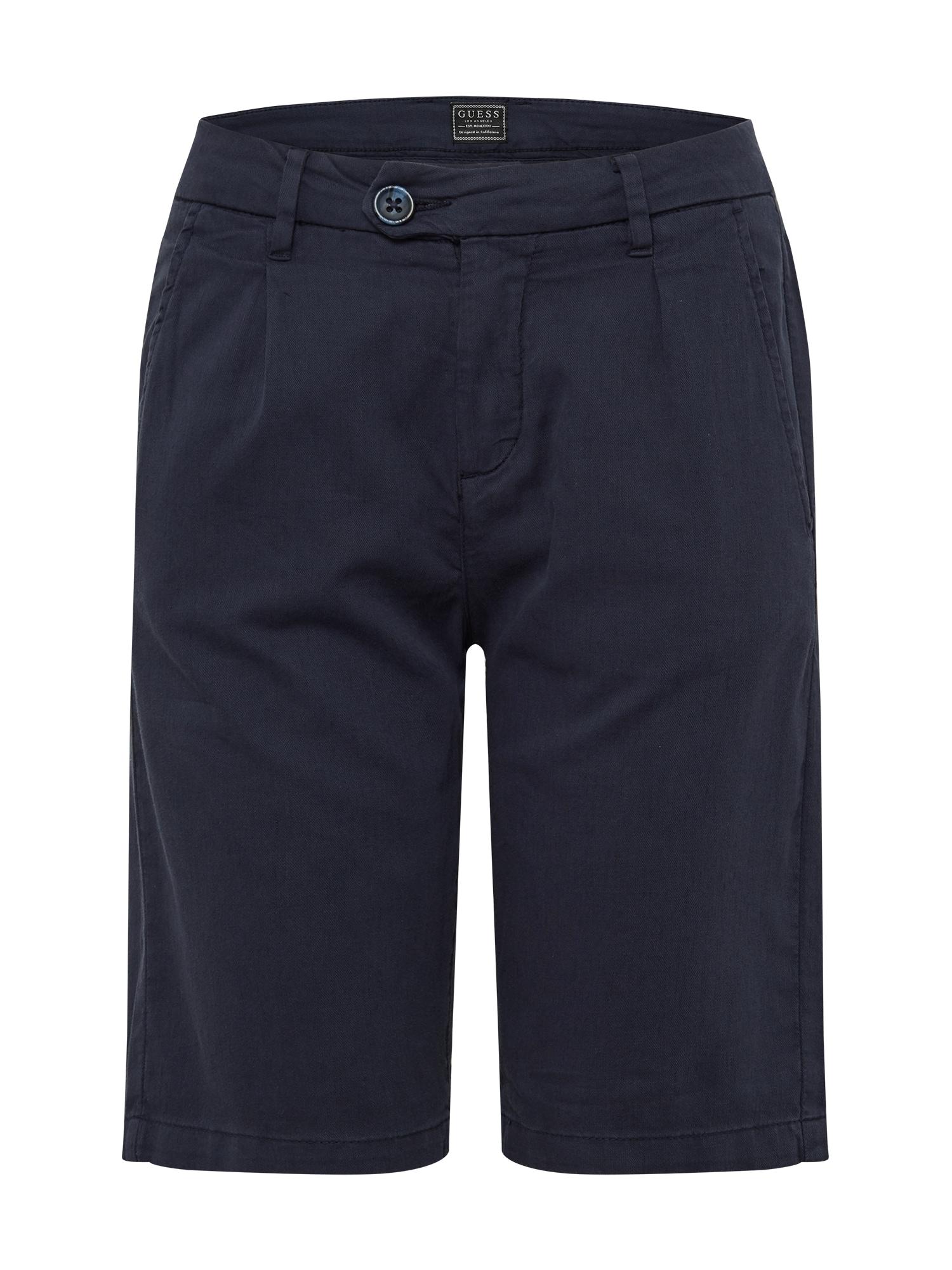 GUESS Kelnės 'BRANDO' tamsiai mėlyna
