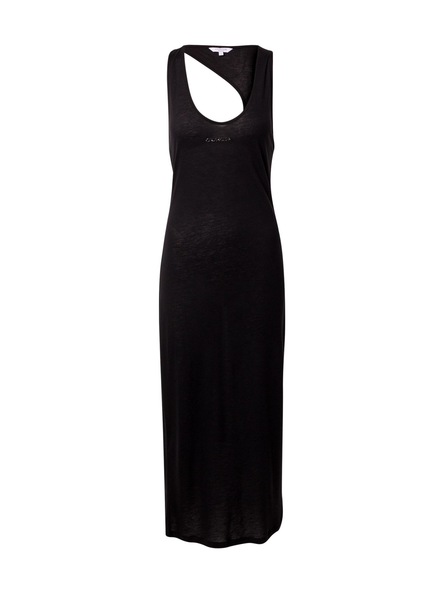 Calvin Klein Swimwear Paplūdimio suknelė juoda