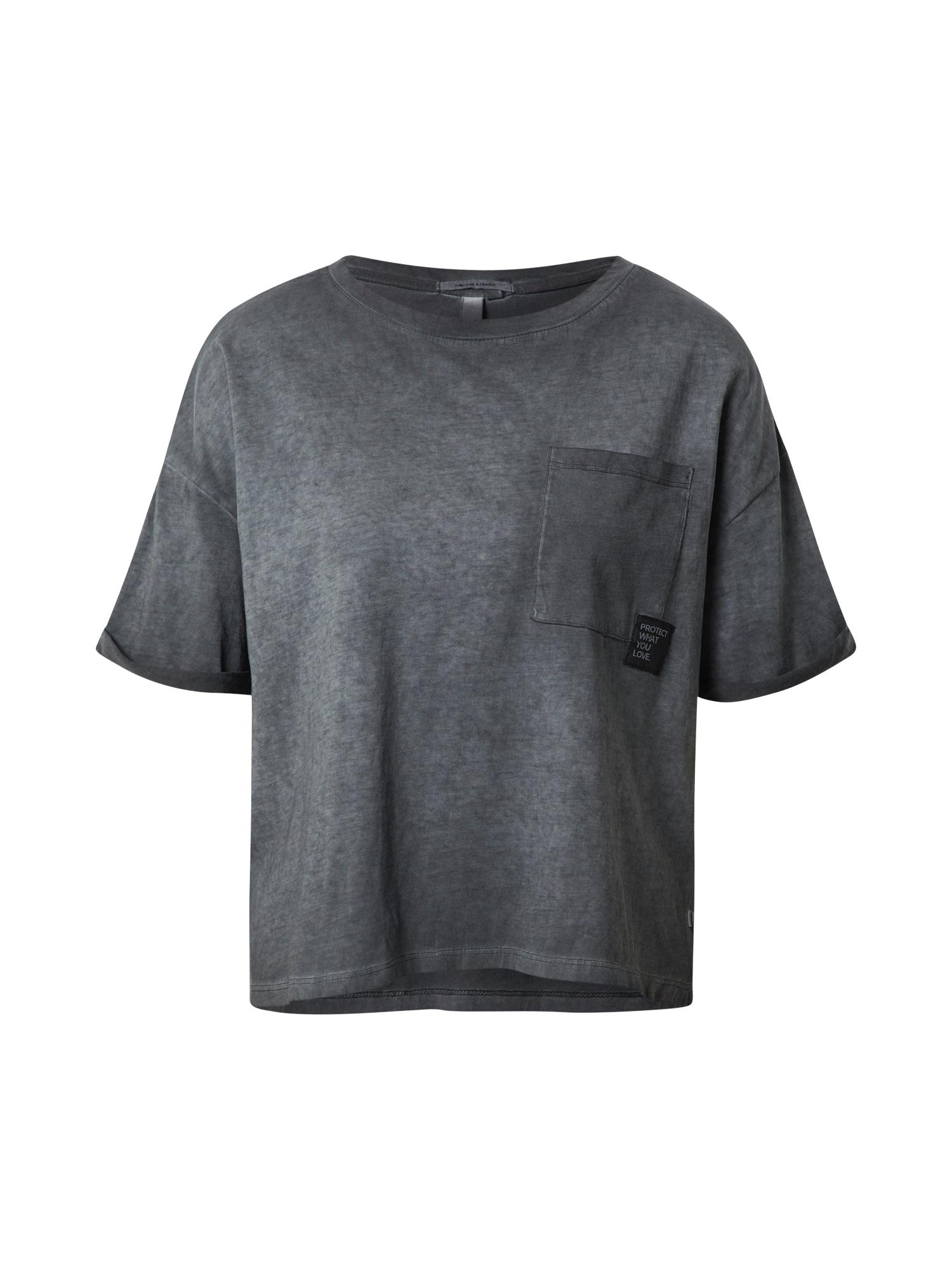 Q/S designed by Laisvi marškinėliai pilka