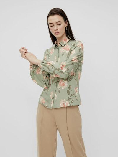 Pieces Gyllian Langärmeliges Hemd mit Blumenmotiv