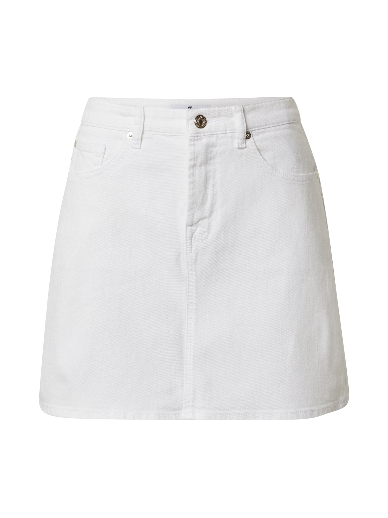 7 for all mankind Sijonas balto džinso spalva