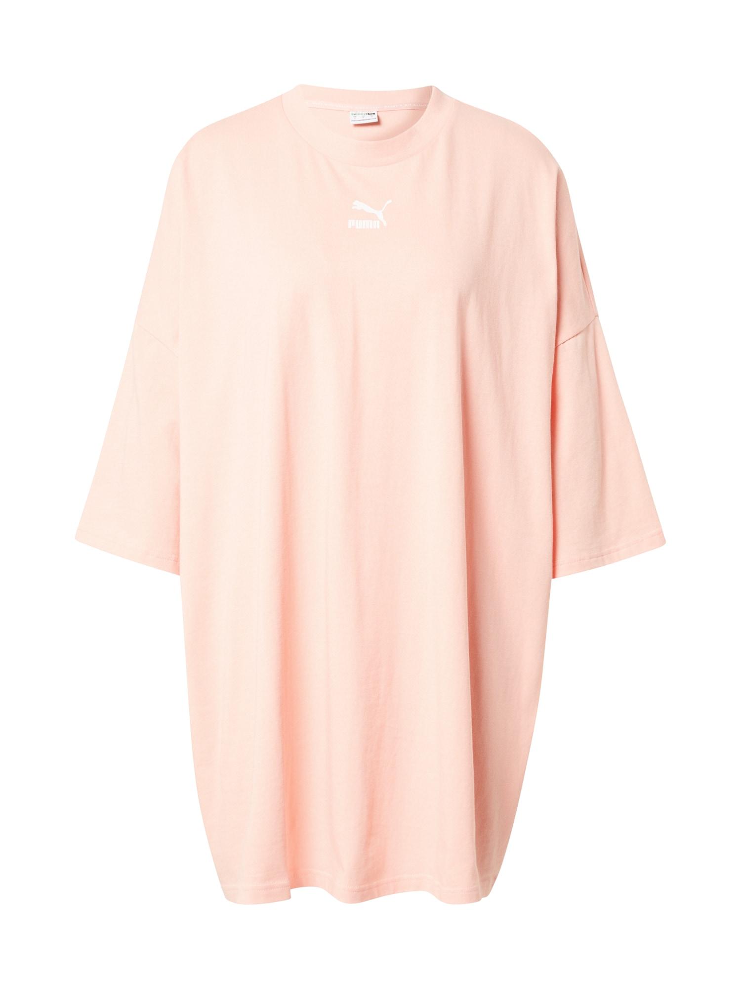 PUMA Laisva suknelė pastelinė rožinė