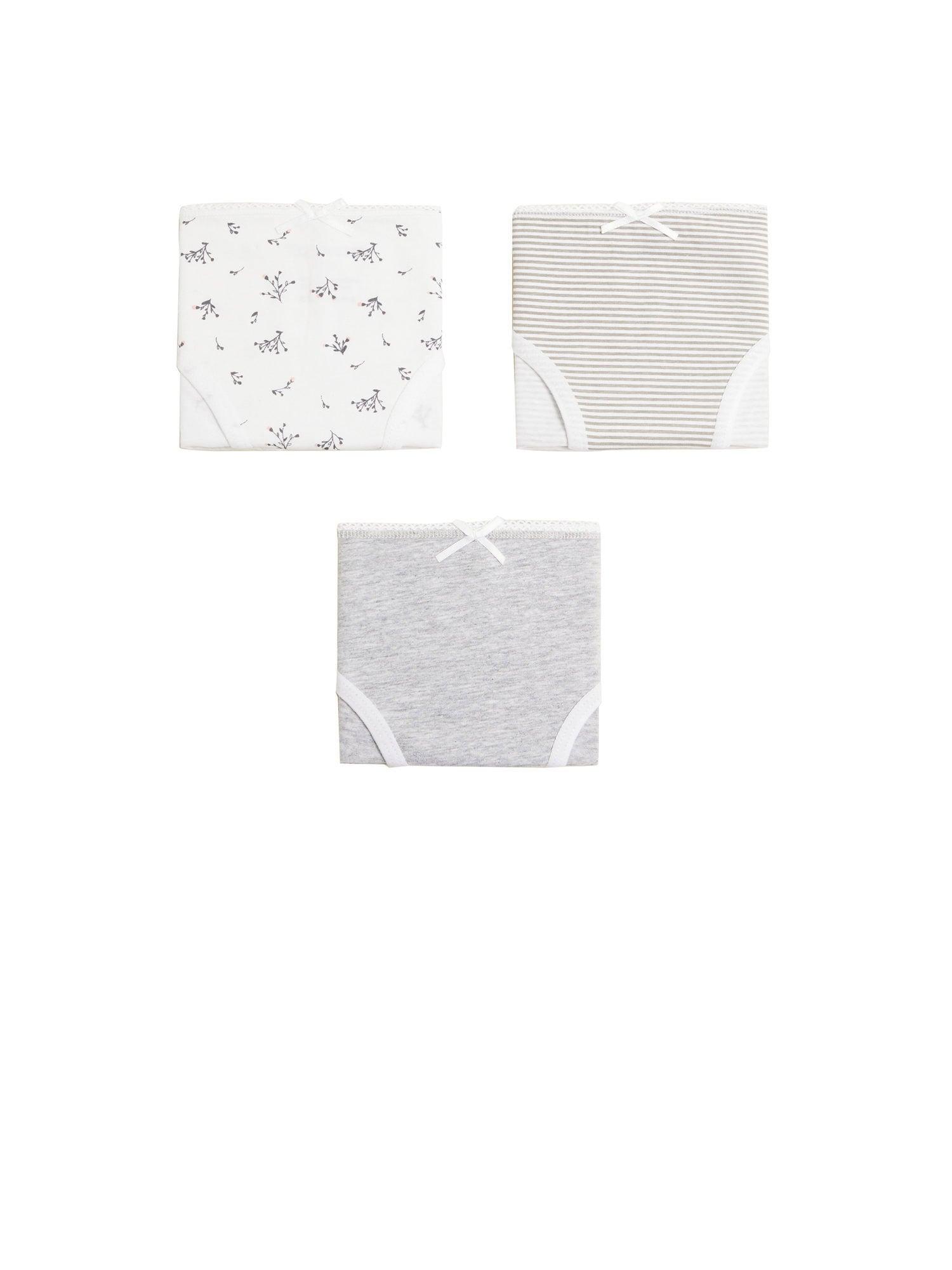 MANGO KIDS Spodní prádlo 'SUSI'  šedá / bílá