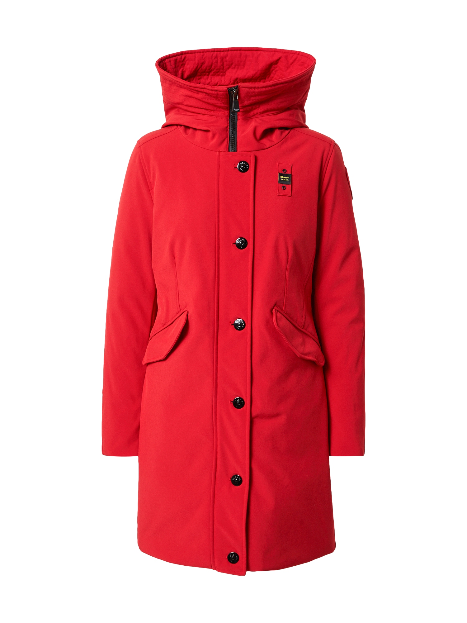 Blauer.USA Žieminis paltas raudona