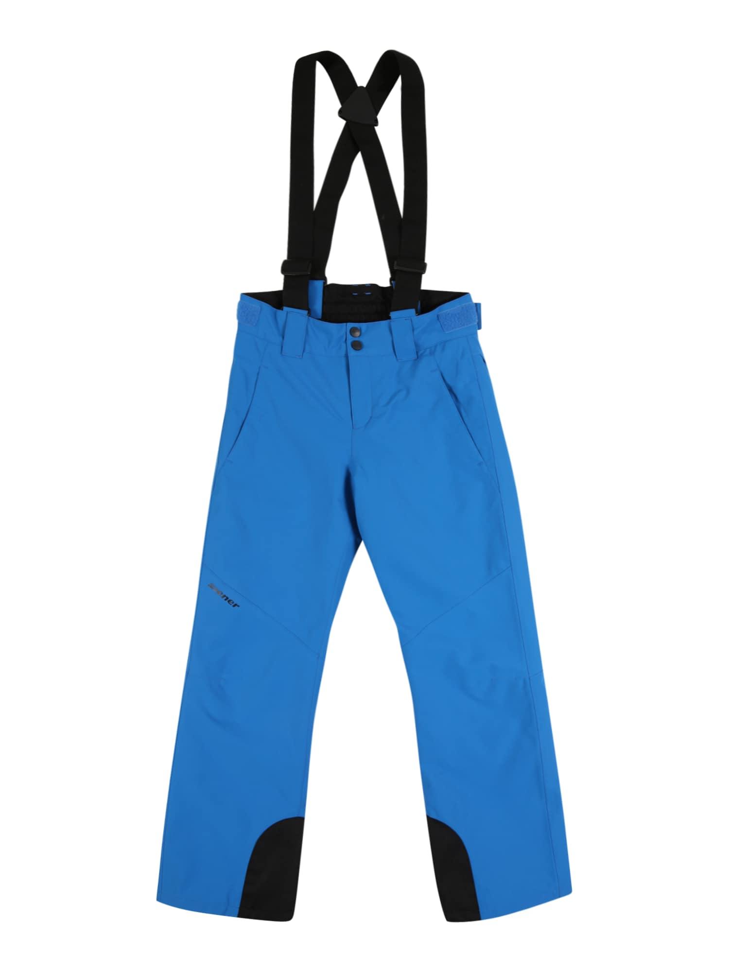 ZIENER Outodoor kalhoty 'Arisu'  nebeská modř / černá