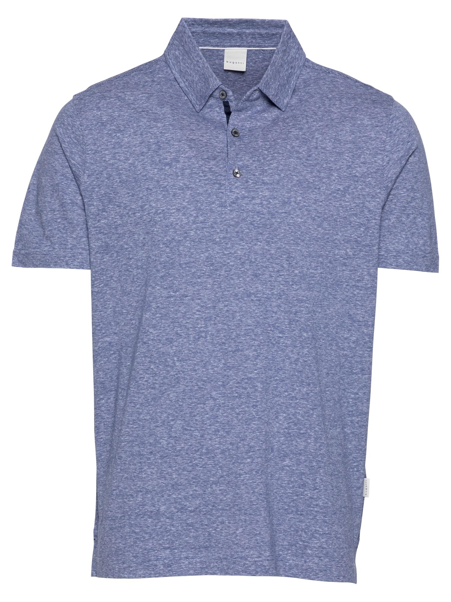 bugatti Marškinėliai melsvai pilka