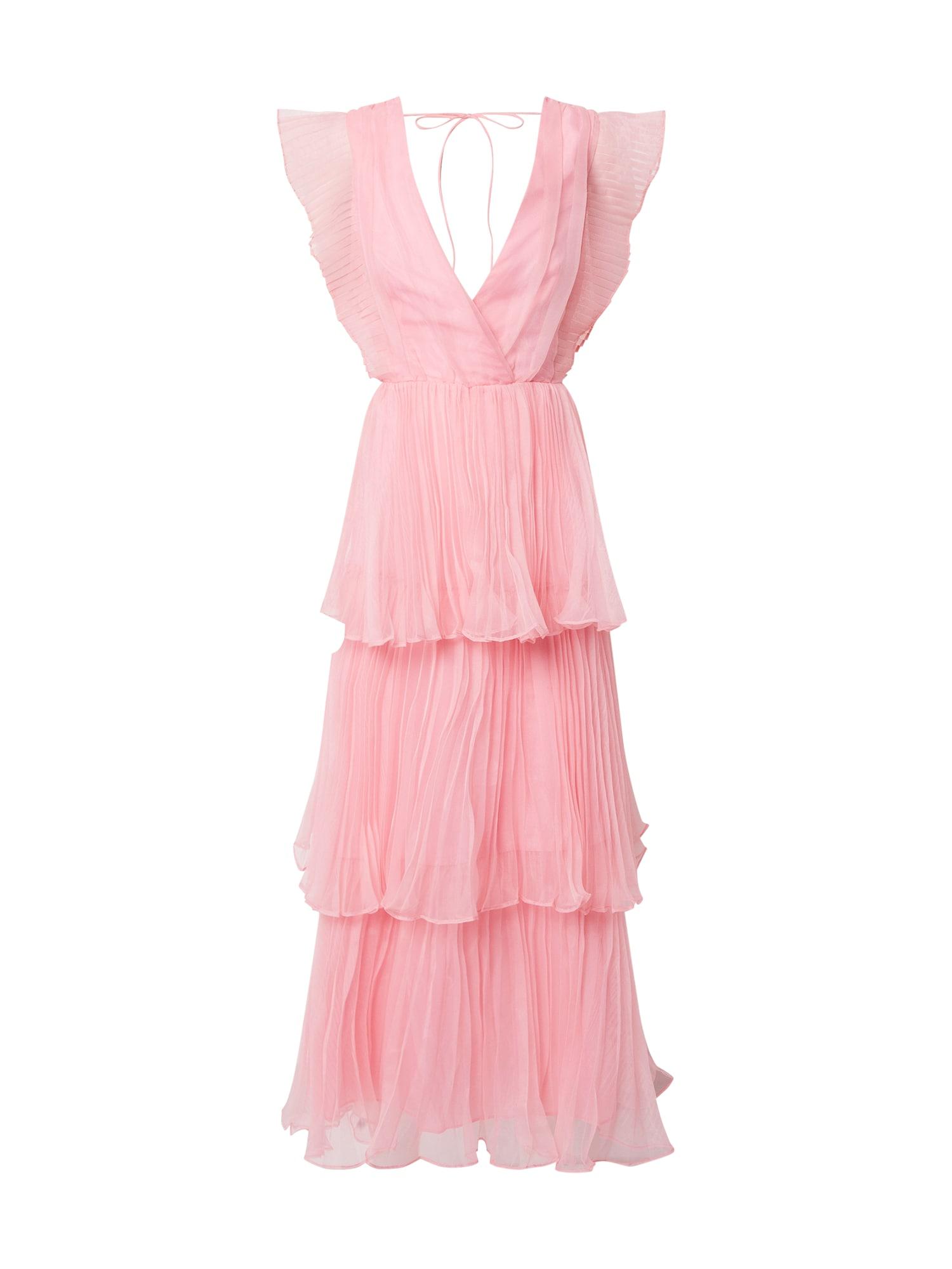 True Decadence Vakarinė suknelė rožių spalva