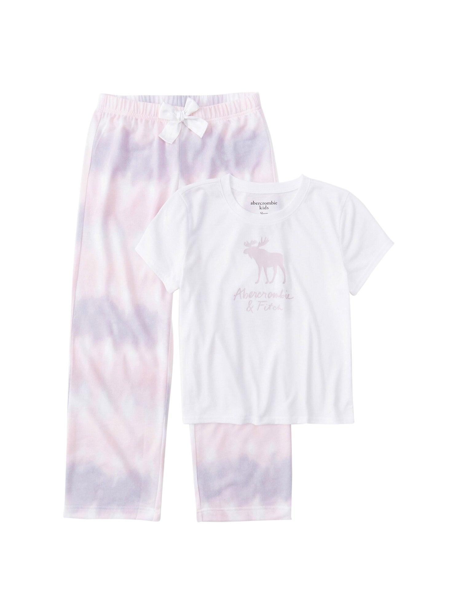 Abercrombie & Fitch Miego kostiumas balta / šviesiai violetinė
