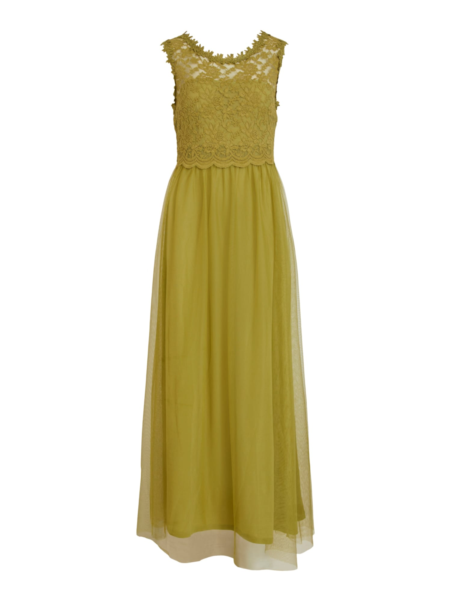 VILA Společenské šaty 'VILYNNEA'  olivová