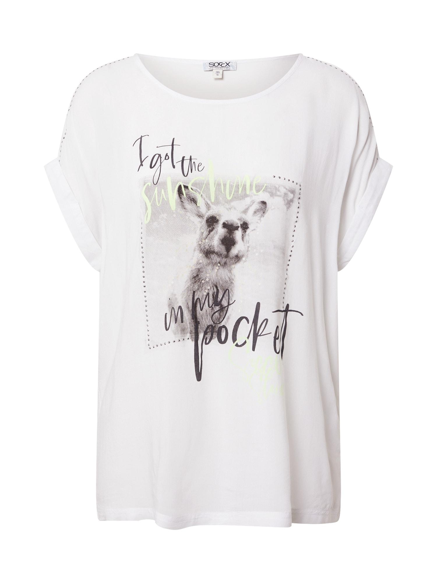 Soccx Marškinėliai balta
