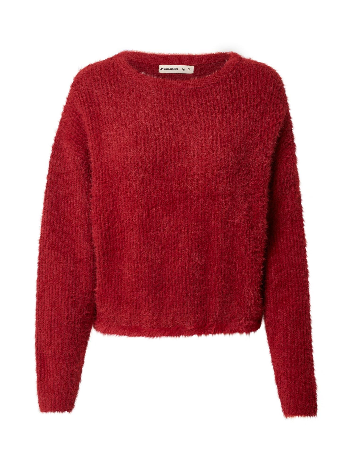 24COLOURS Megztinis raudona