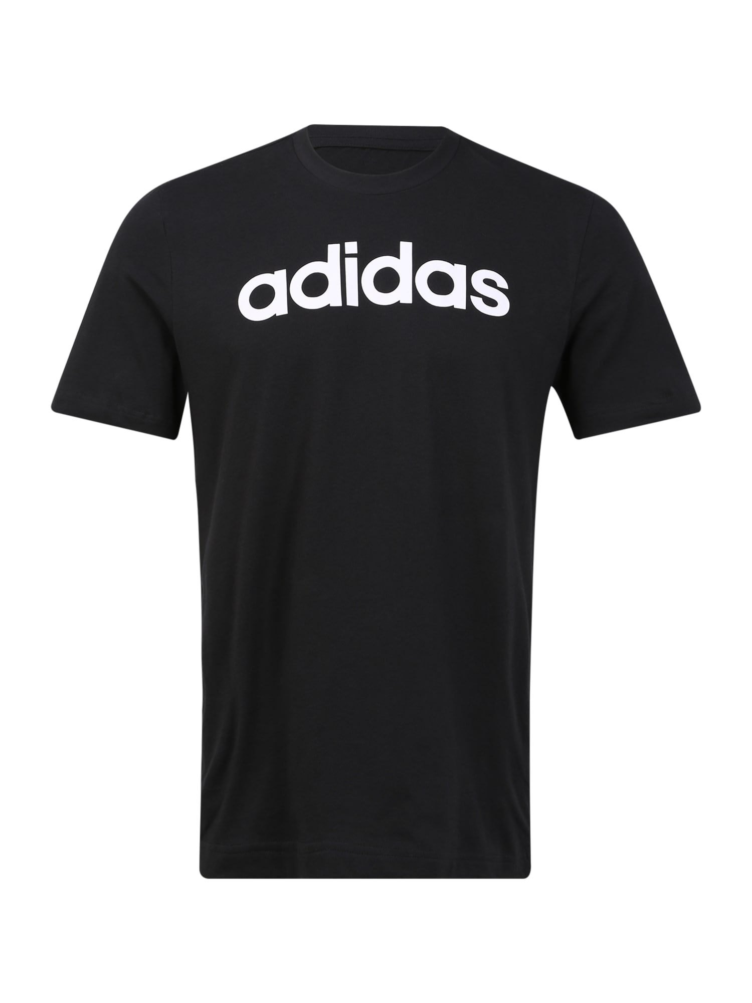 ADIDAS PERFORMANCE Sportiniai marškinėliai juoda / balta