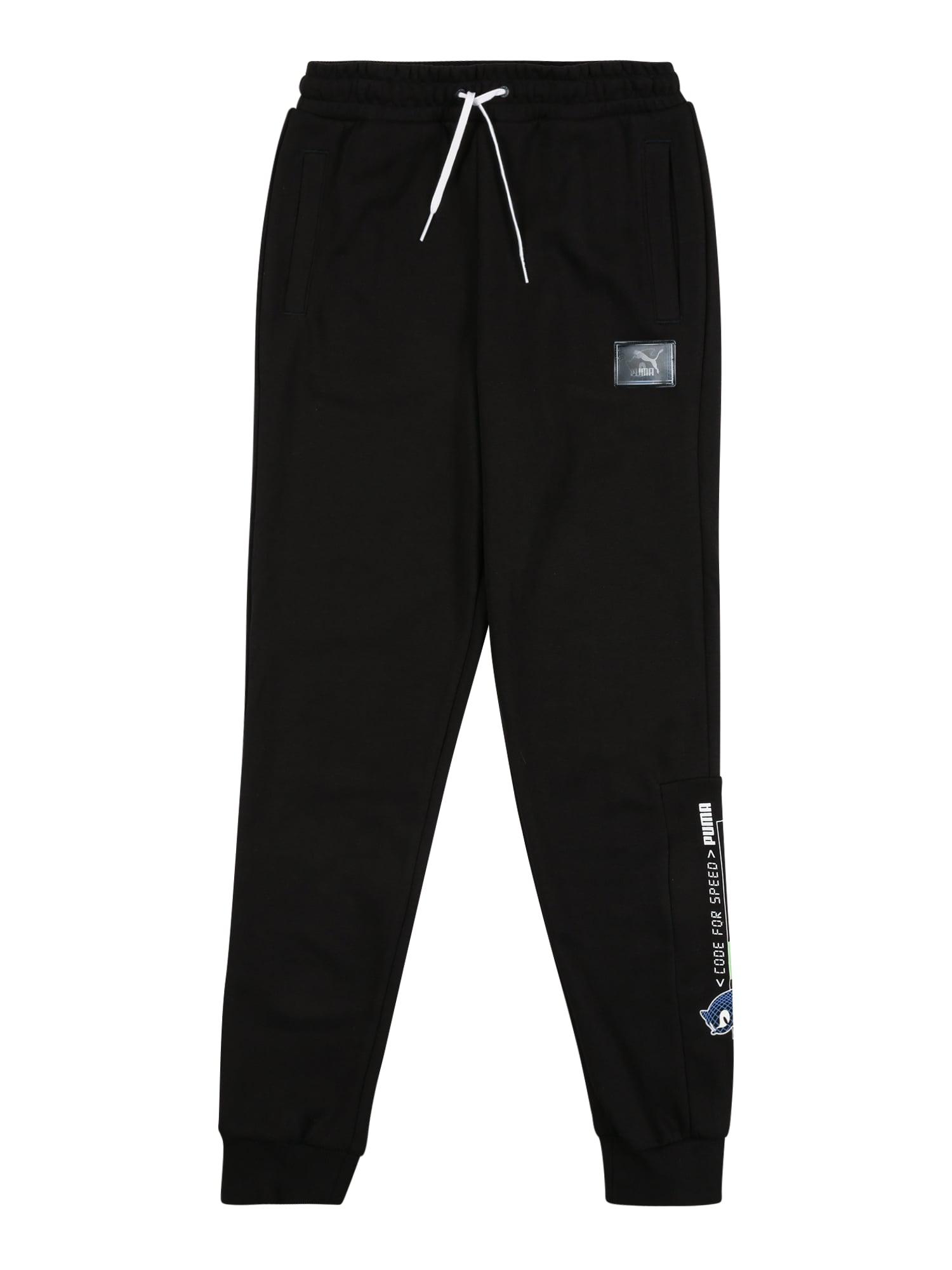 PUMA Sportovní kalhoty  královská modrá / černá