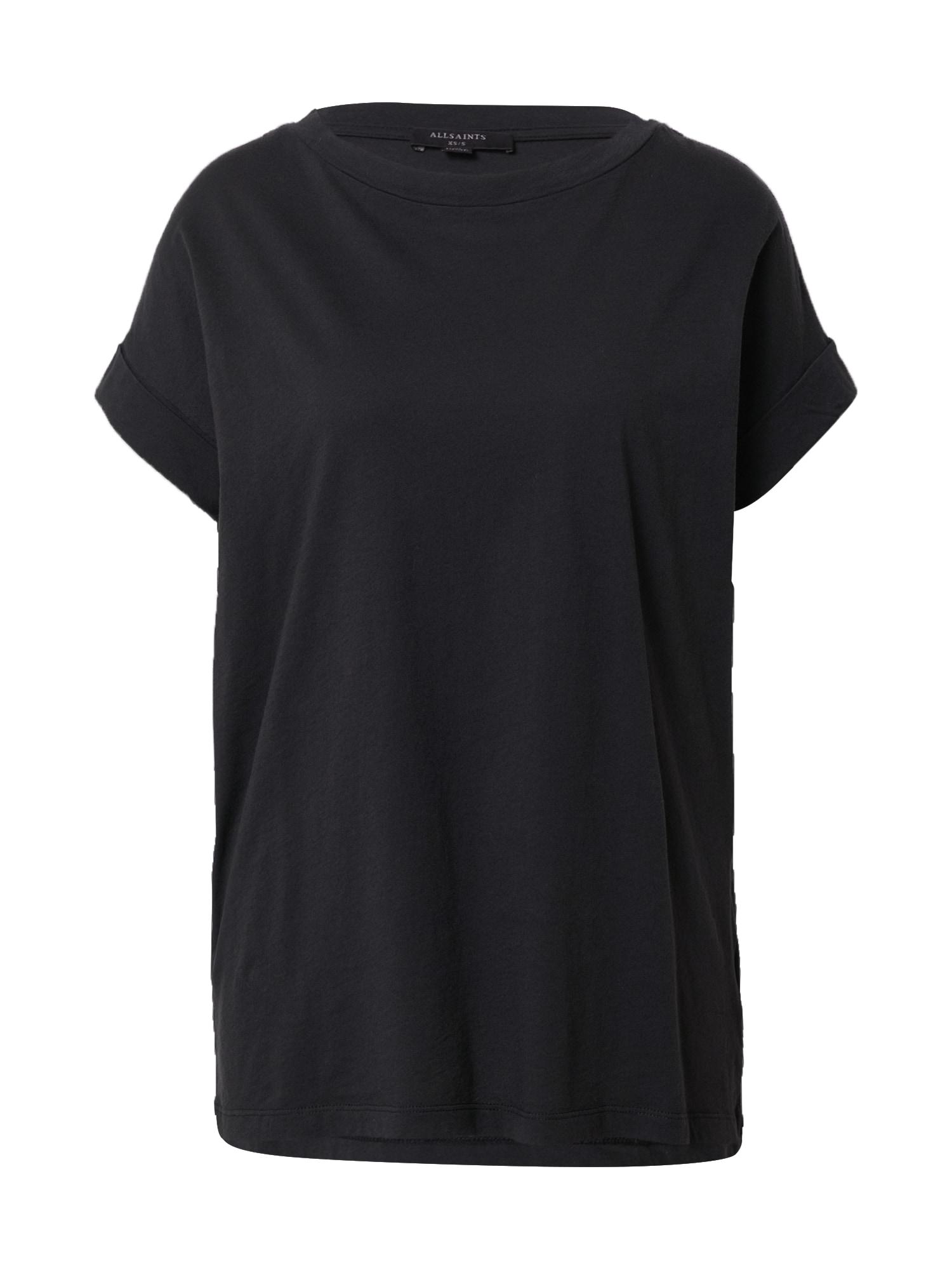 AllSaints Marškinėliai 'Imogen Boy' juoda