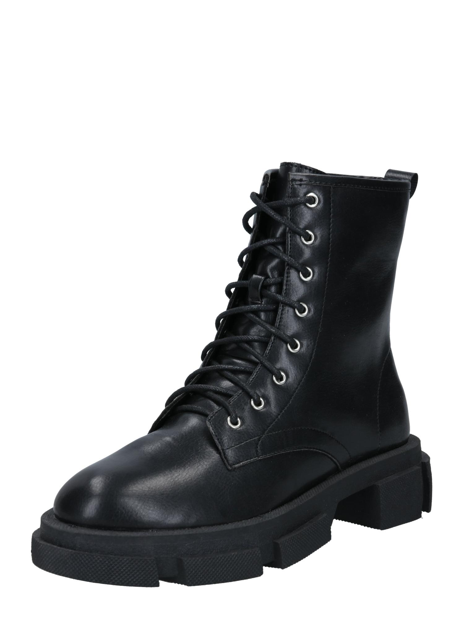 Raid Šněrovací boty 'Marta'  černá