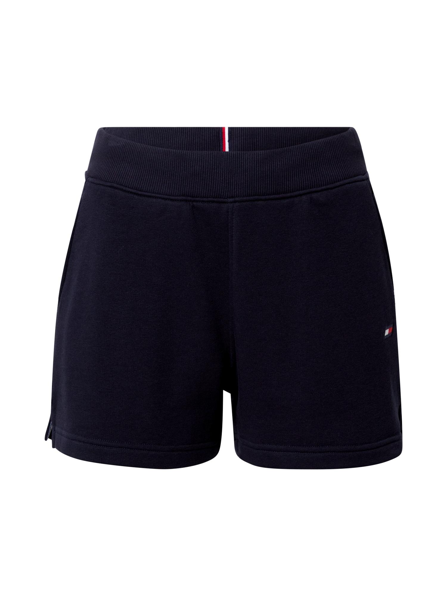 Tommy Sport Sportinės kelnės tamsiai mėlyna / balta / raudona