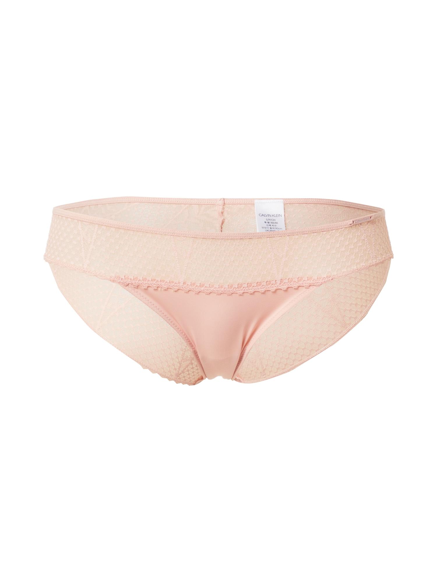 Calvin Klein Underwear Moteriškos kelnaitės rožių spalva