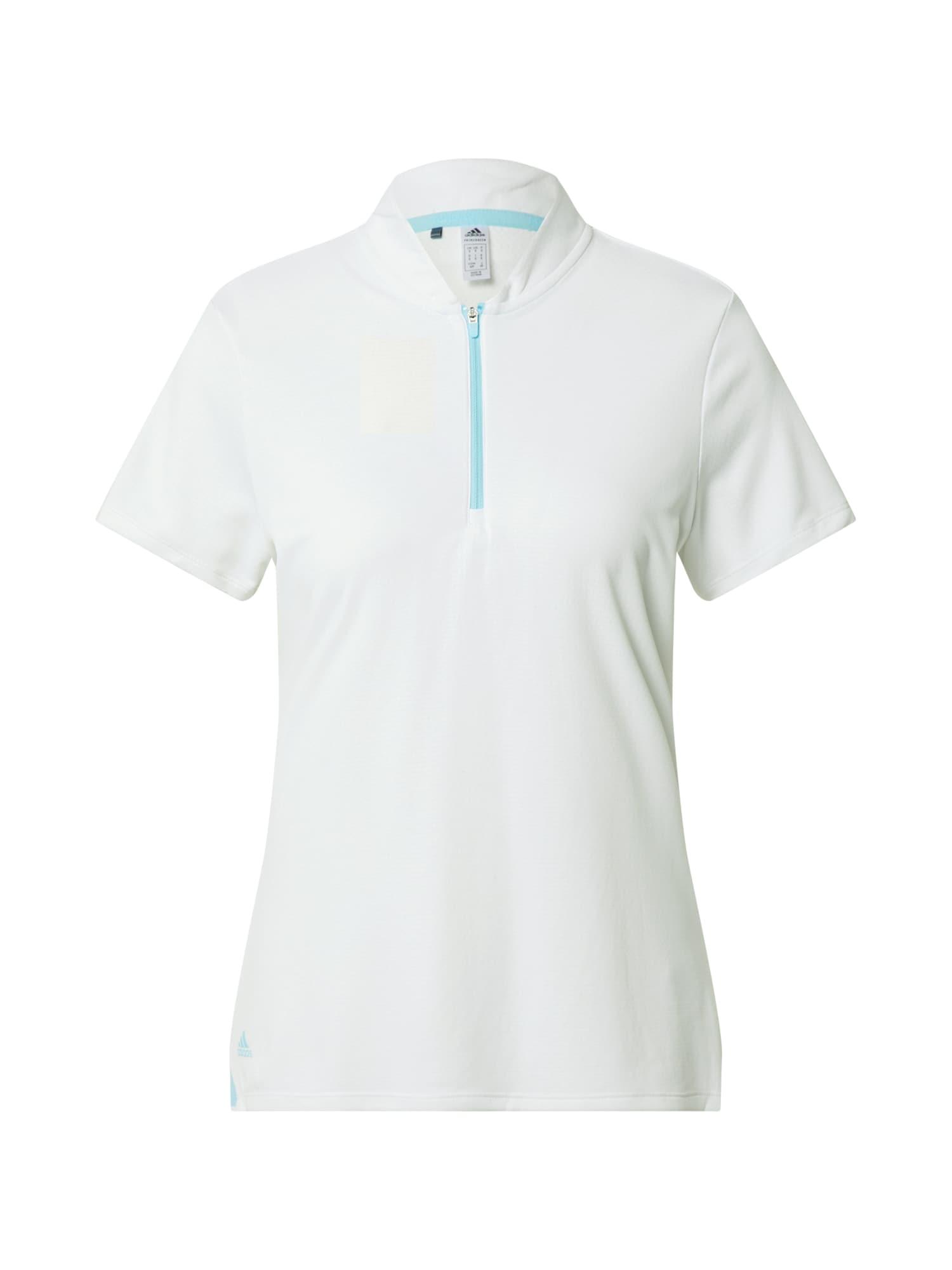 adidas Golf Marškinėliai balta / turkio spalva