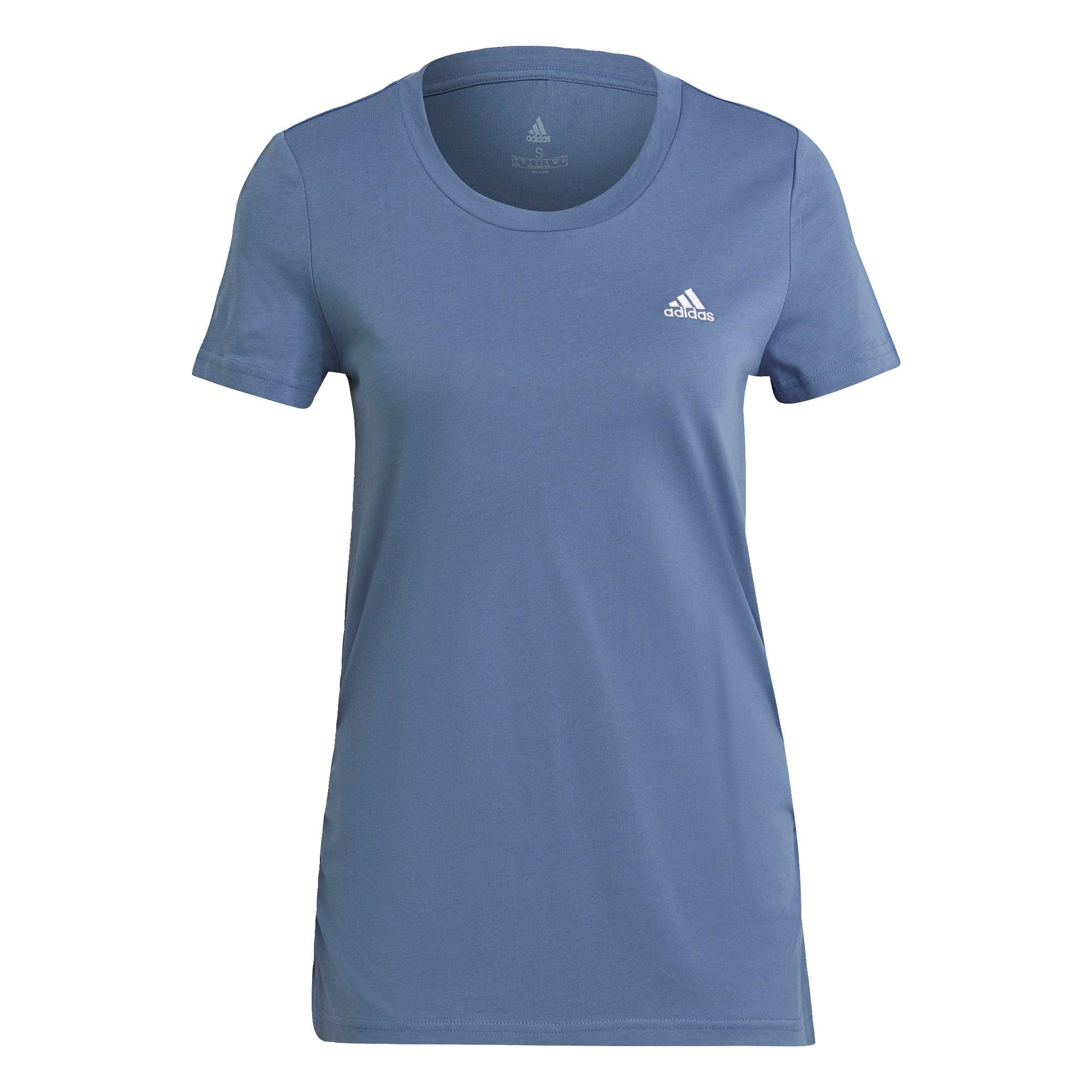 ADIDAS PERFORMANCE Sportiniai marškinėliai melsvai pilka