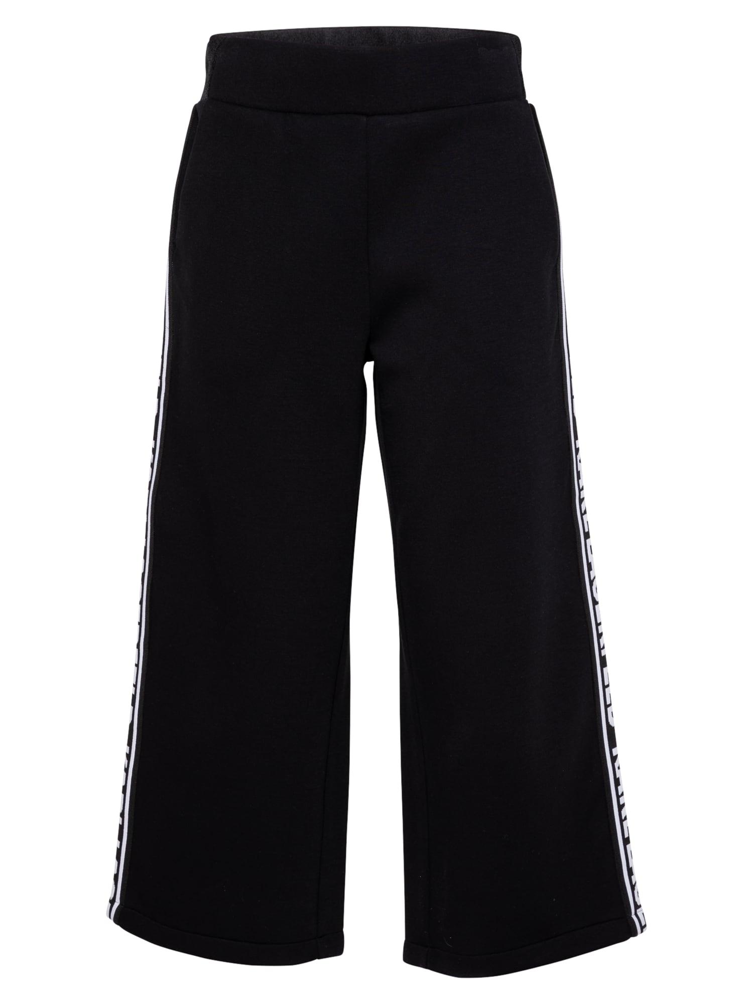 Karl Lagerfeld Kelnės juoda / balta
