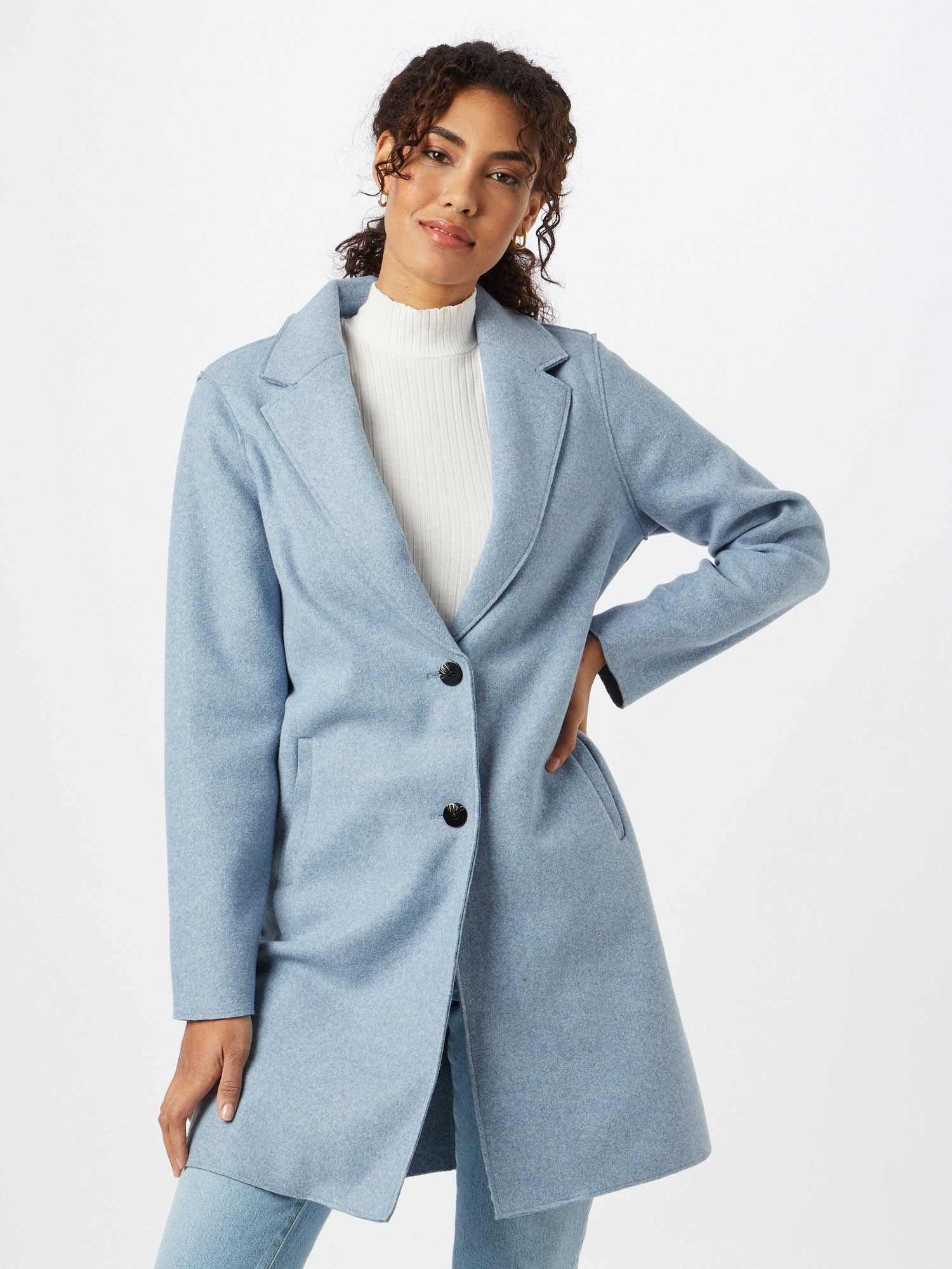 ONLY Prechodný kabát 'CARRIE'  svetlomodrá.