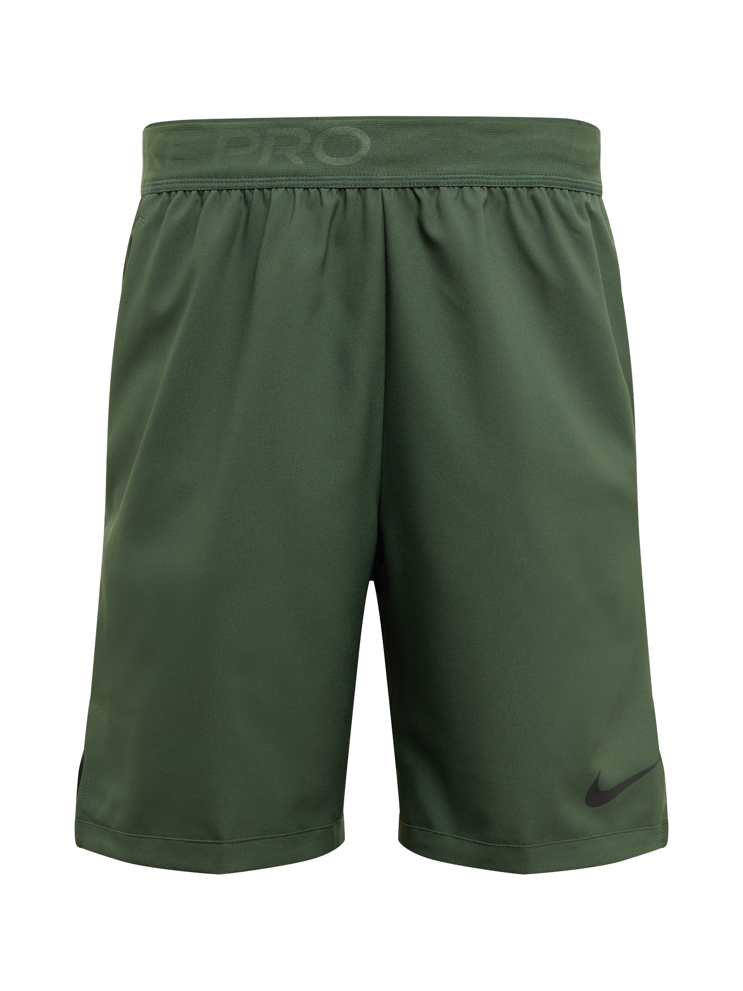 NIKE Sportovní kalhoty 'Flex Vent'  tmavě zelená / černá