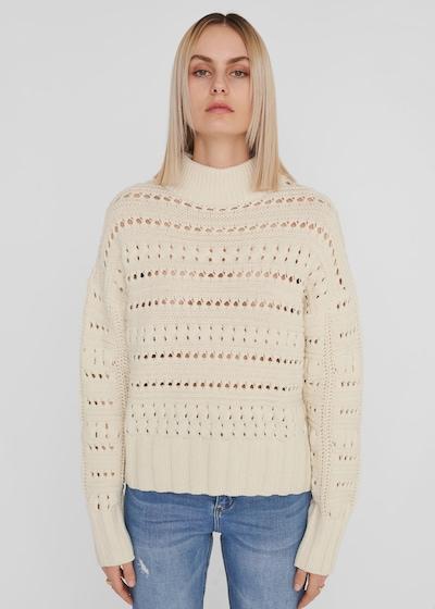 Noisy May Rikke grob gestrickter Pullover mit hohem Kragen