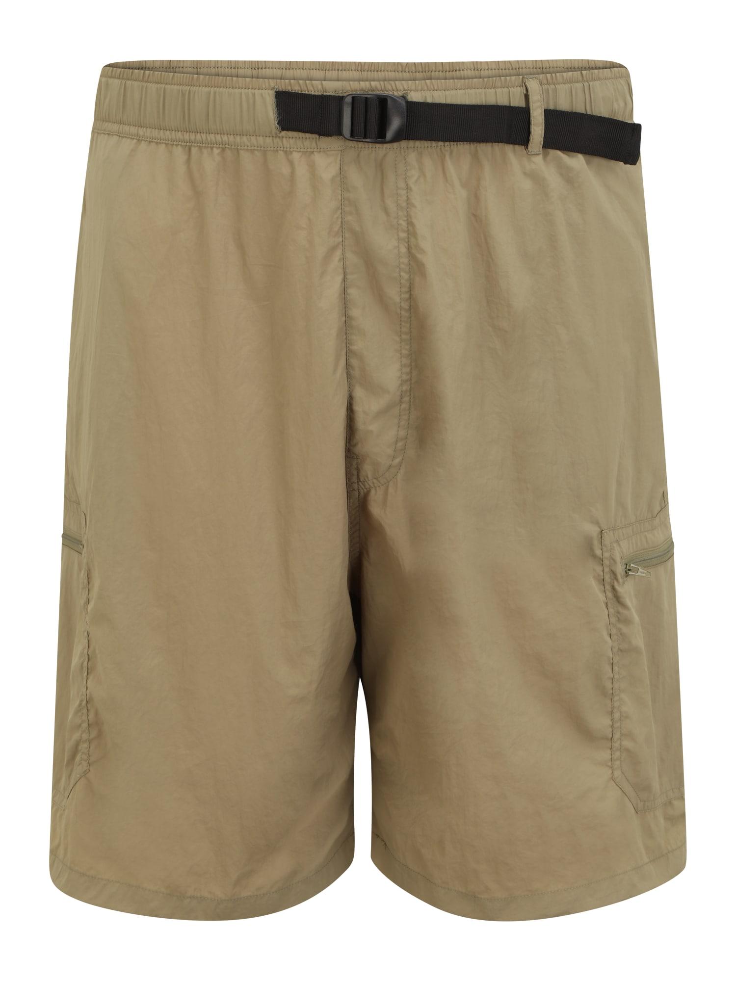 Urban Classics Plus Size Laisvo stiliaus kelnės rusvai žalia