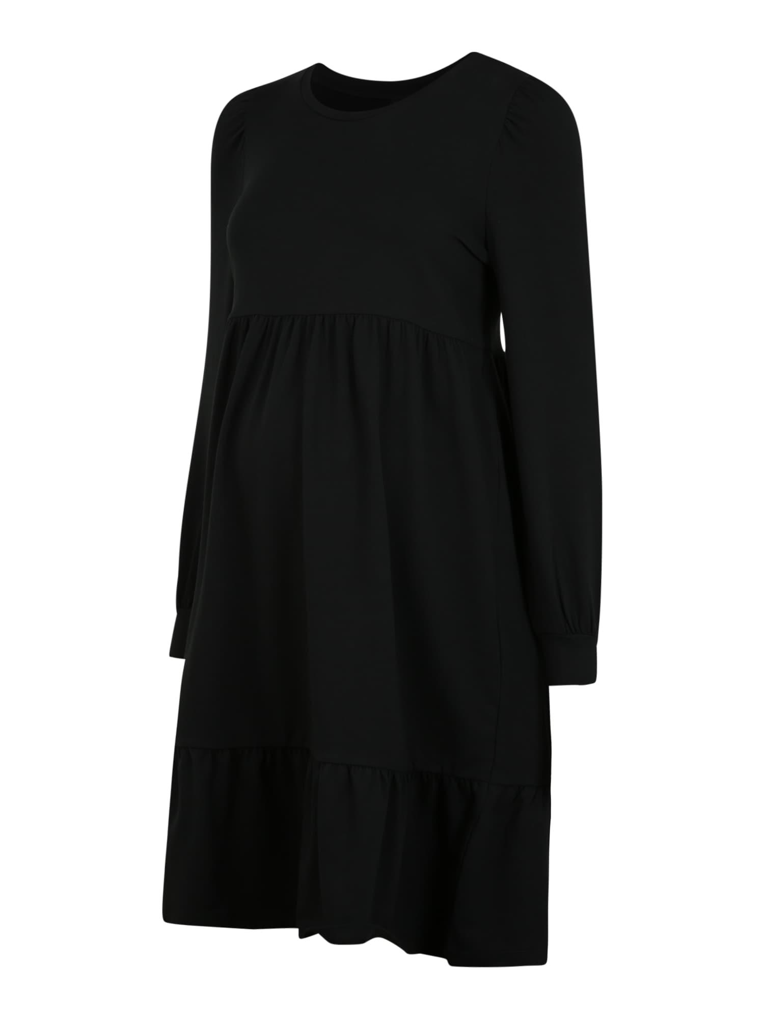 MAMALICIOUS Suknelė 'Carly' juoda