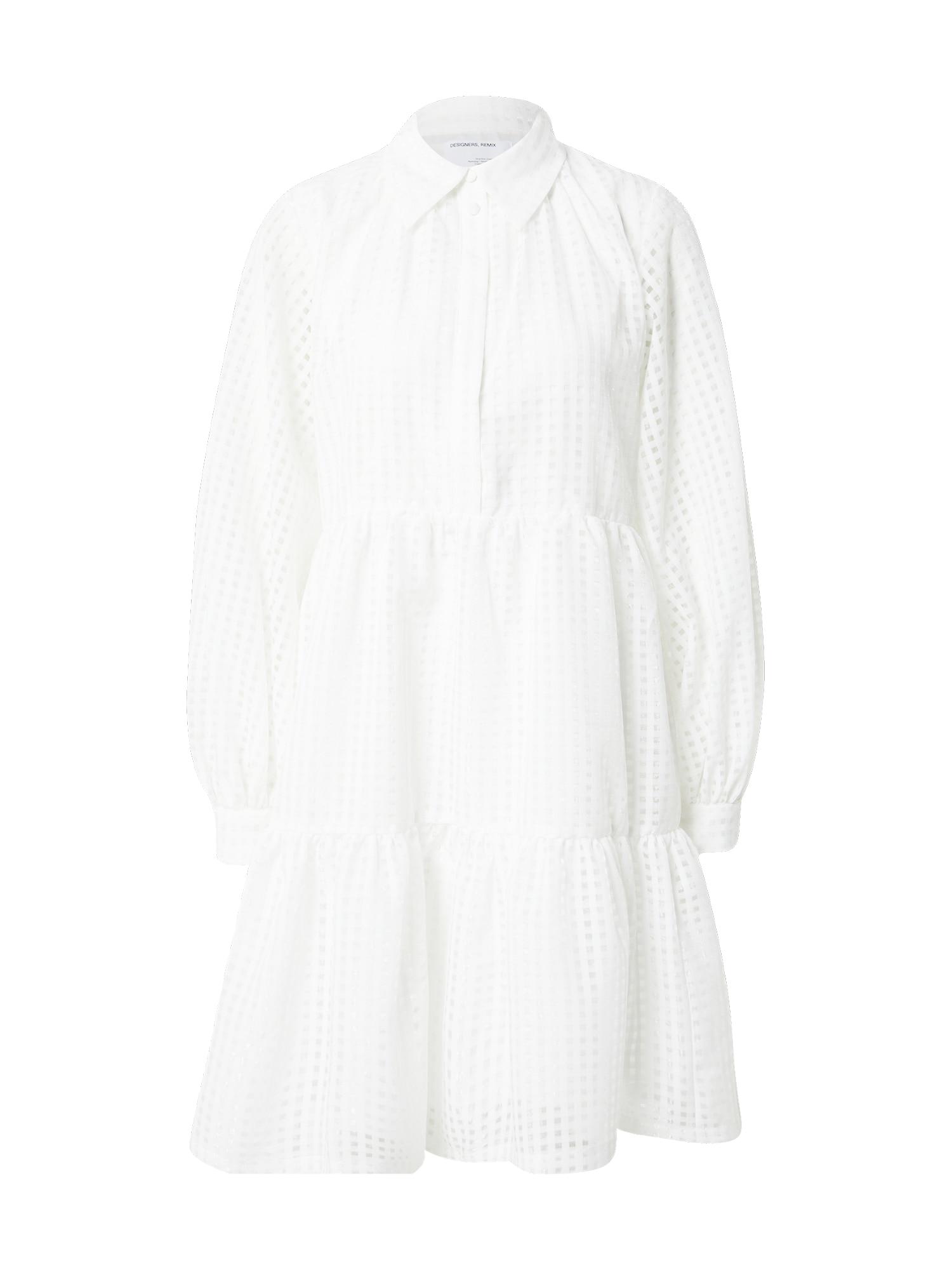 Designers Remix Palaidinės tipo suknelė kremo