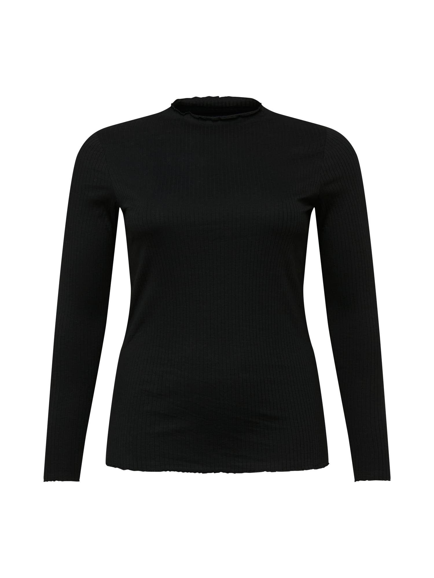 Vero Moda Curve Tričko 'Jeanette'  černá