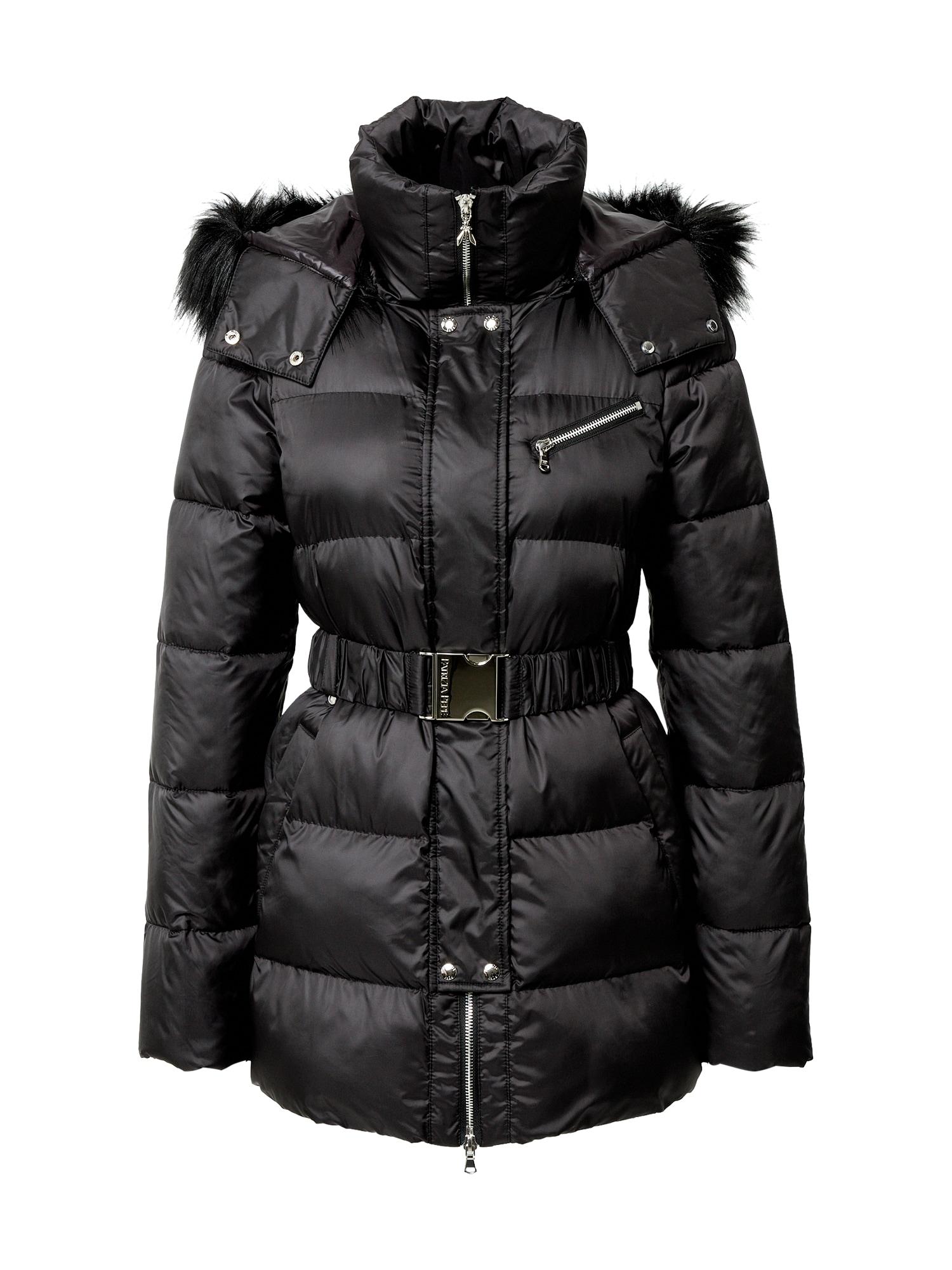 PATRIZIA PEPE Zimní bunda  černá
