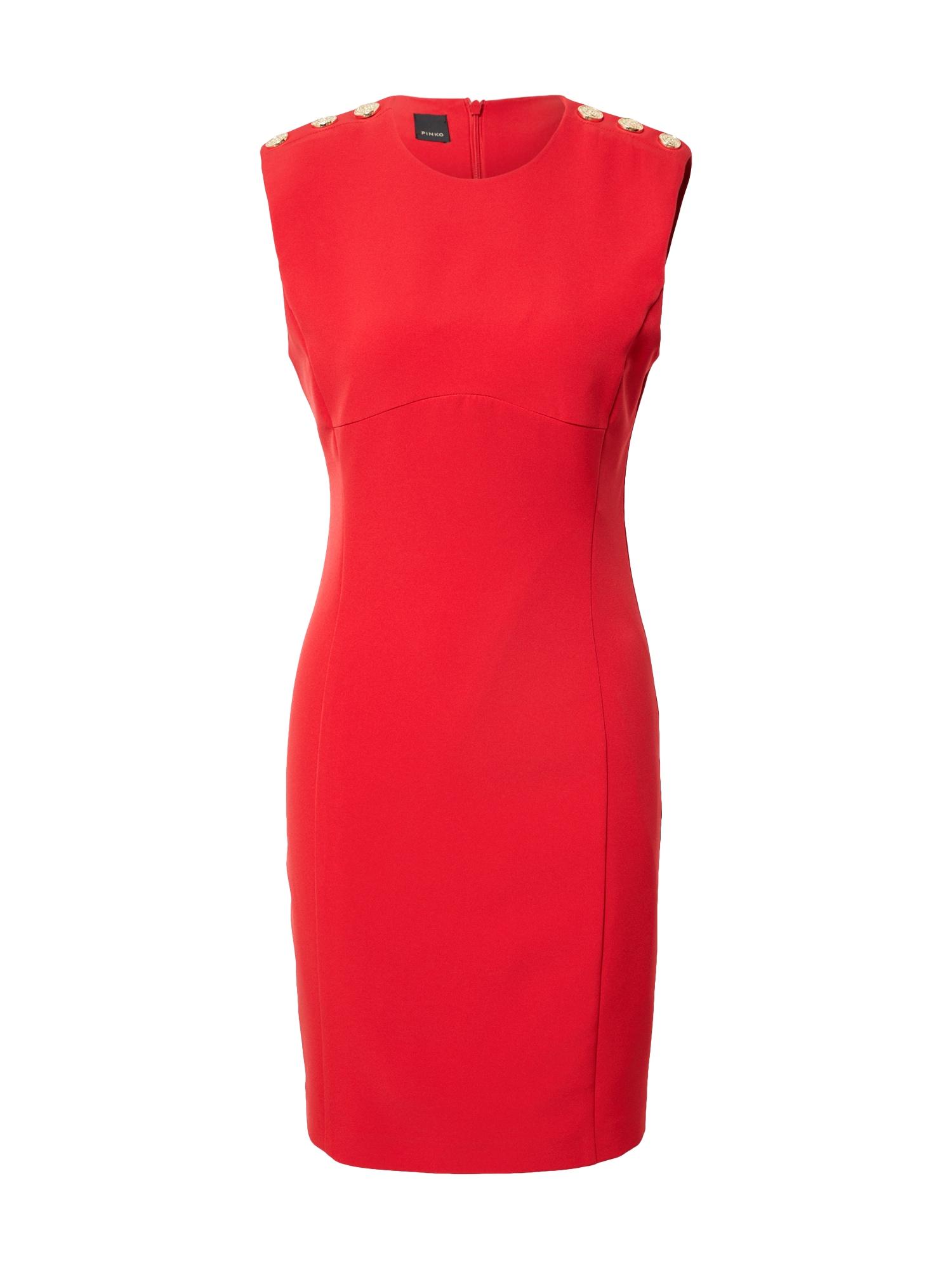 PINKO Suknelė raudona