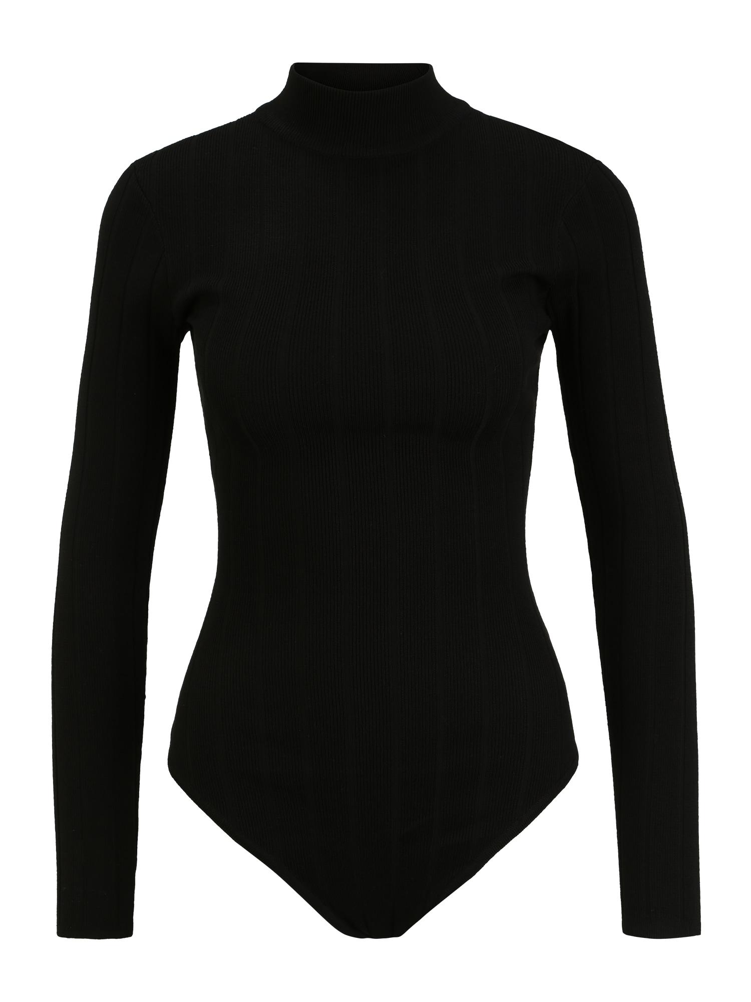 Missguided (Tall) Marškinėliai-glaustinukė juoda