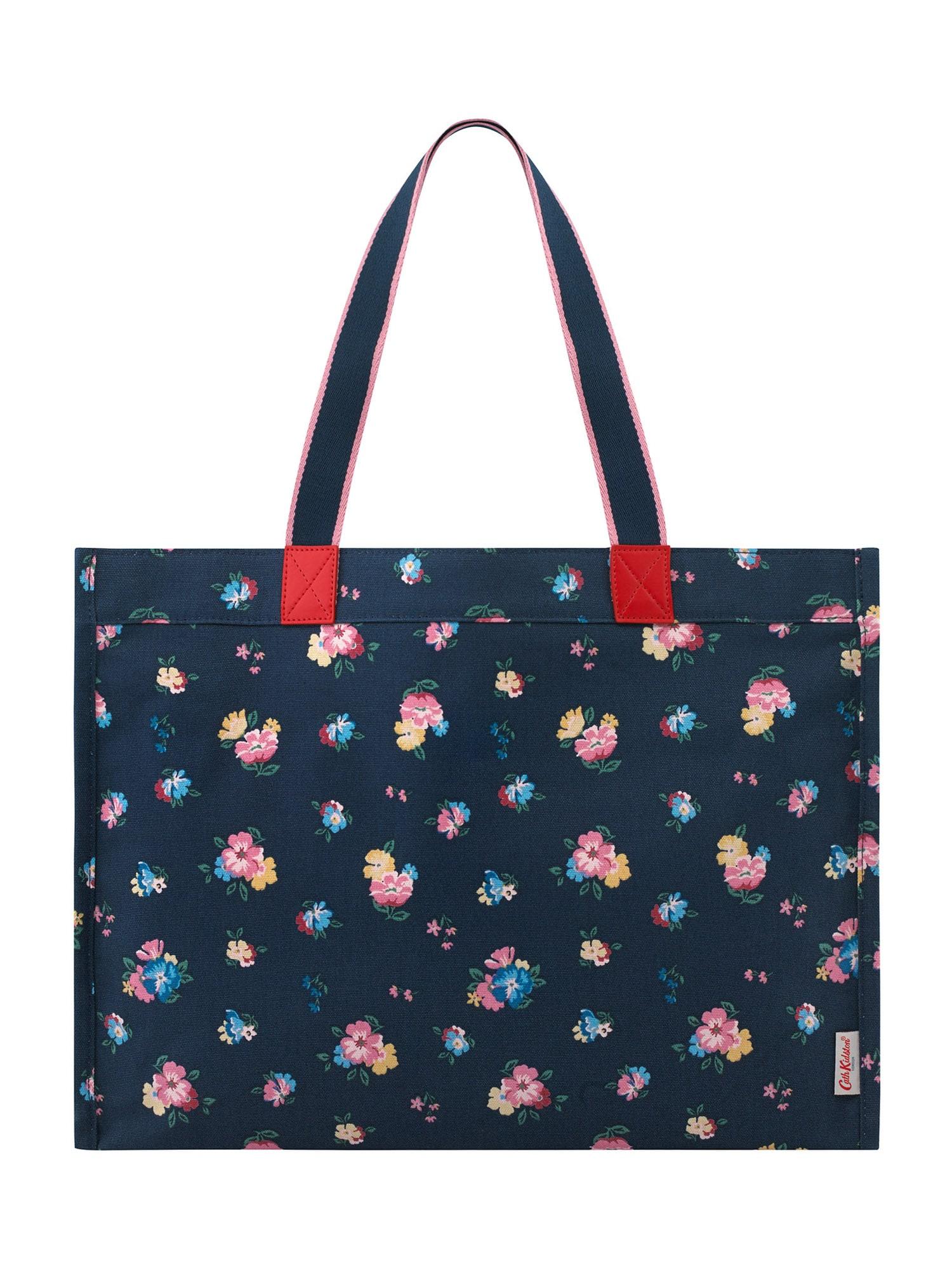 Cath Kidston Pirkinių krepšys tamsiai mėlyna / mišrios spalvos